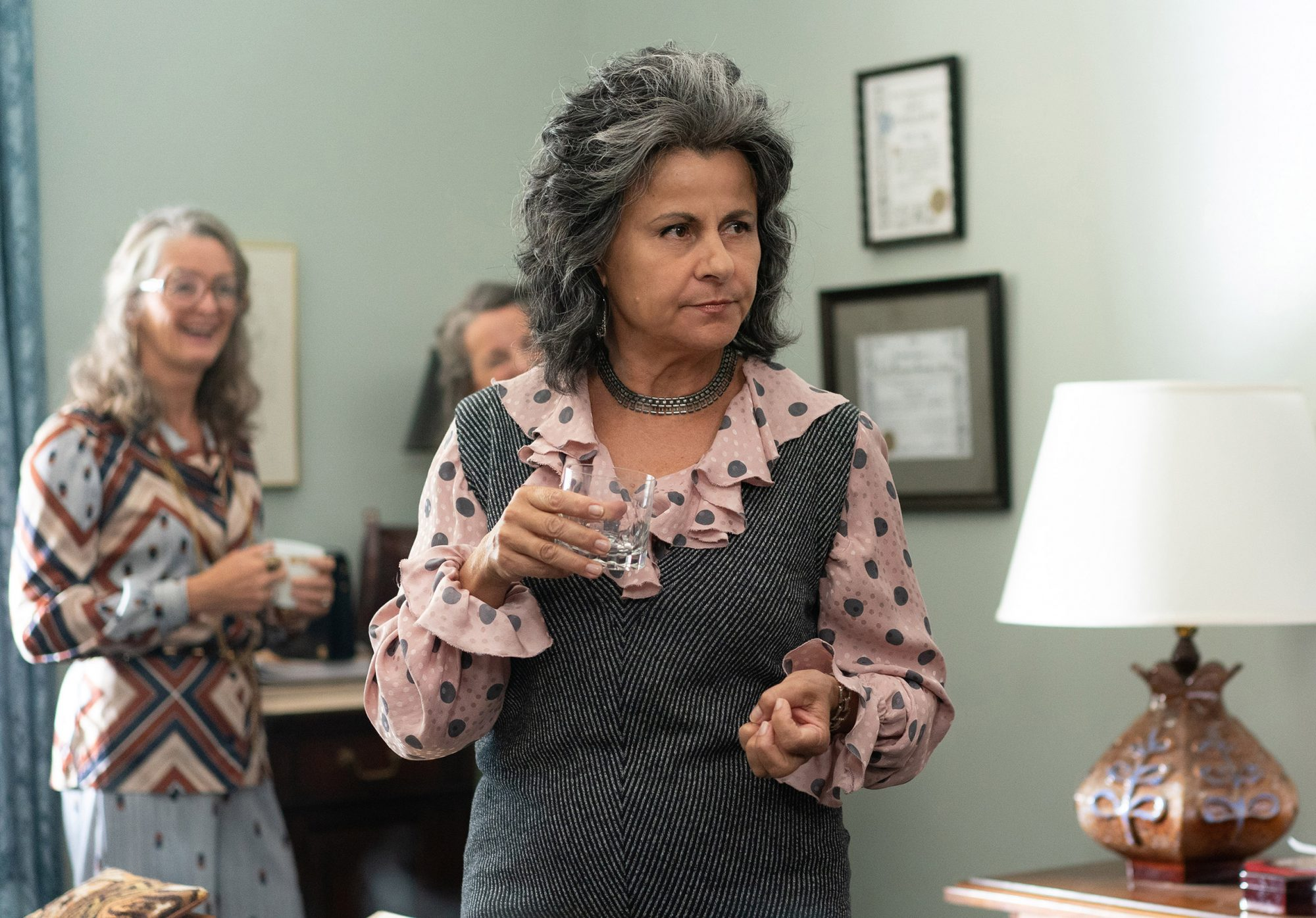 Tracey Ullman as Betty Friedan