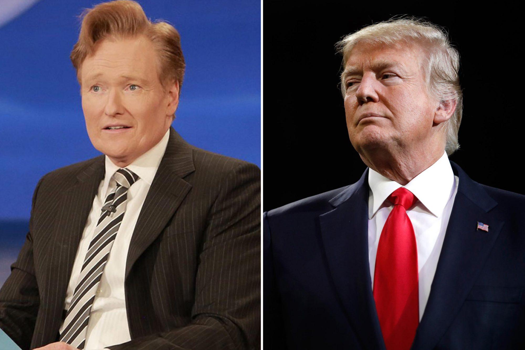 Conan O'brien, Donald Trump