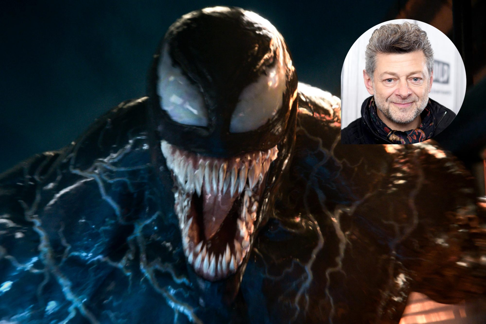Venom (2018) Courtesy Sony Pictures NEW YORK, NY - DECEMBER 12: Actor/director Andy Serkis visits Build Series to discuss the film 'Mowgli: Legend of the Jungle' at Build Studio on December 12, 2018 in New York City. (Photo by Gary Gershoff/WireImage)
