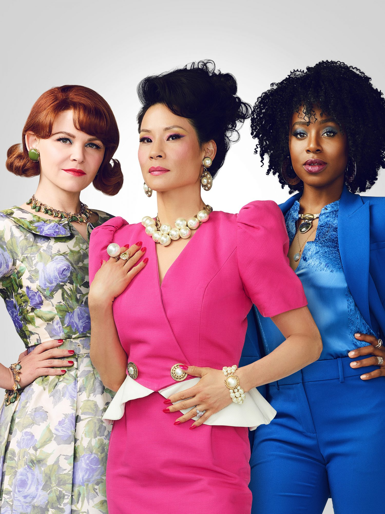 Ginnifer Goodwin; Lucy Liu; Kirby Howell-Baptiste
