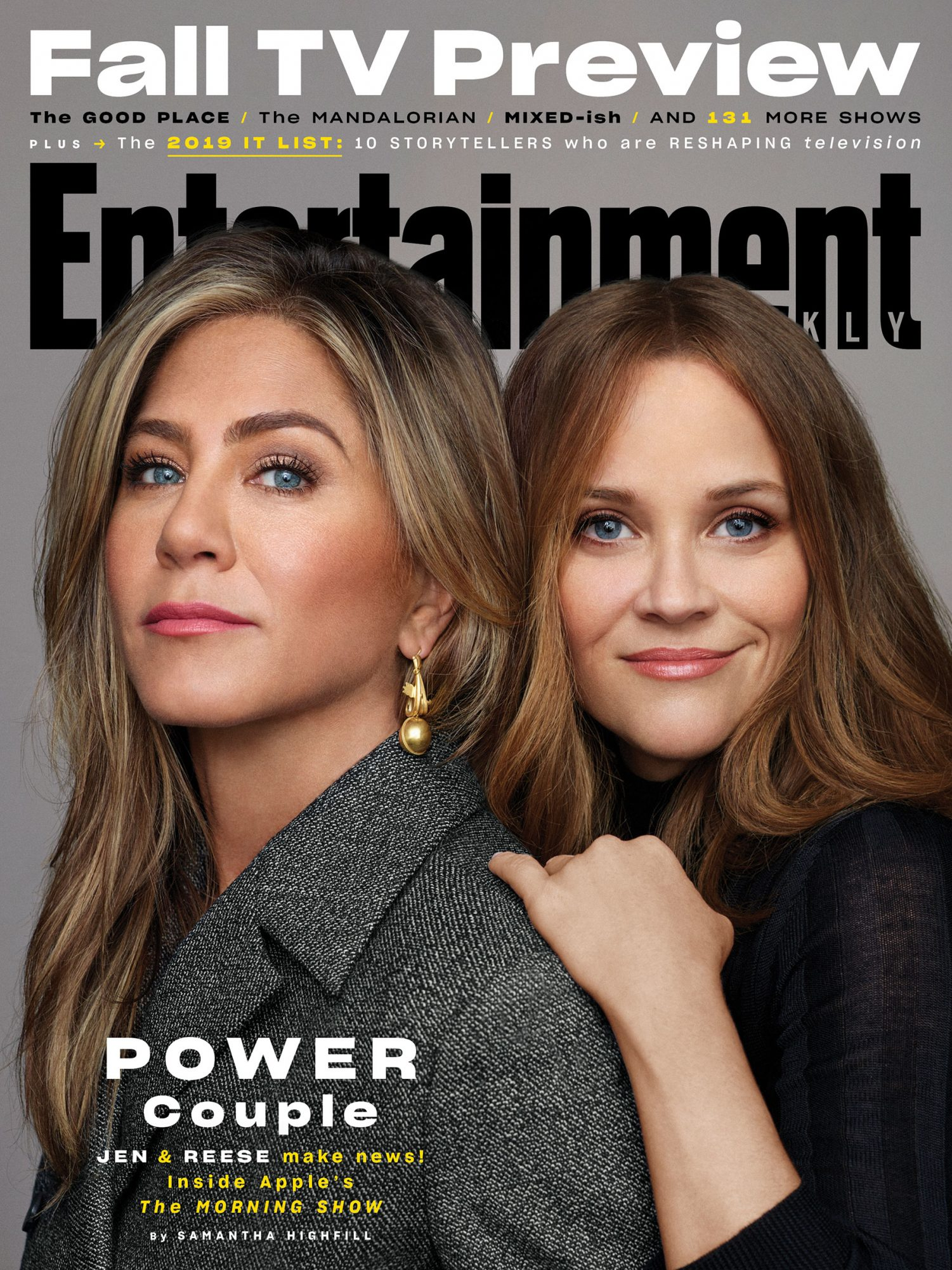 EW Cover October 2019 - The Morning Show