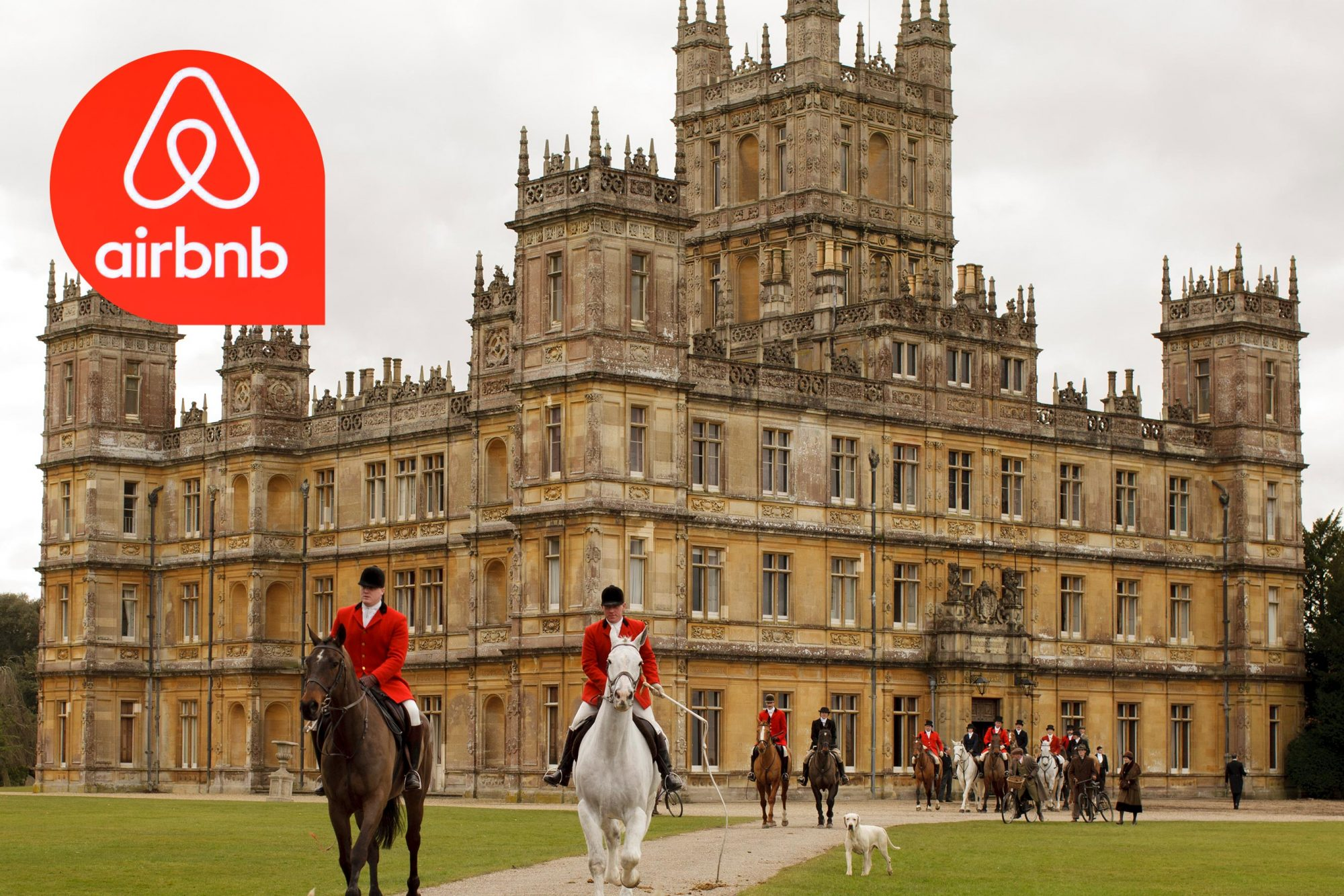 Downton Abbey / Airbnb