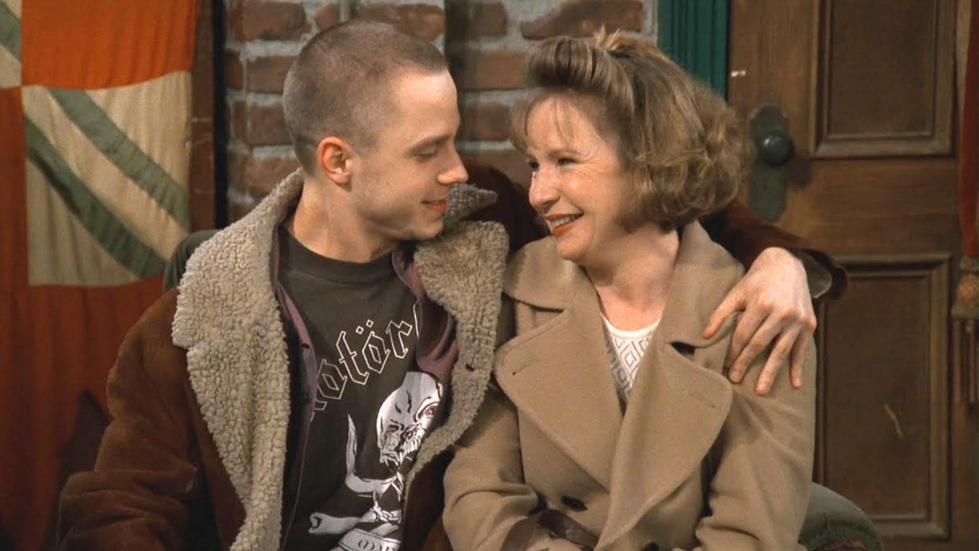 Friends (screen grab) Giovanni Ribisi and Debra Jo Rupp CR: NBC