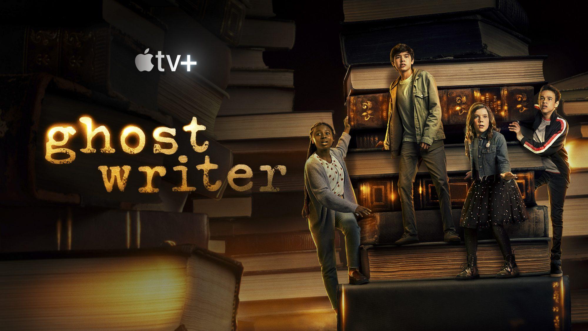 Ghostwriter key art CR: Apple TV+