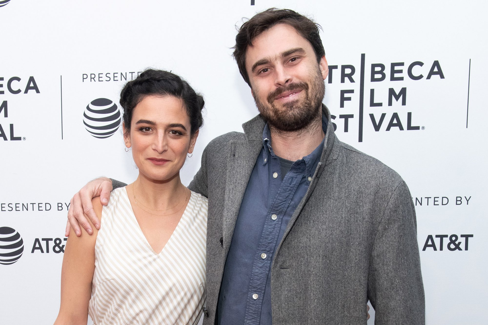 Jenny Slate and Ben Shattuck
