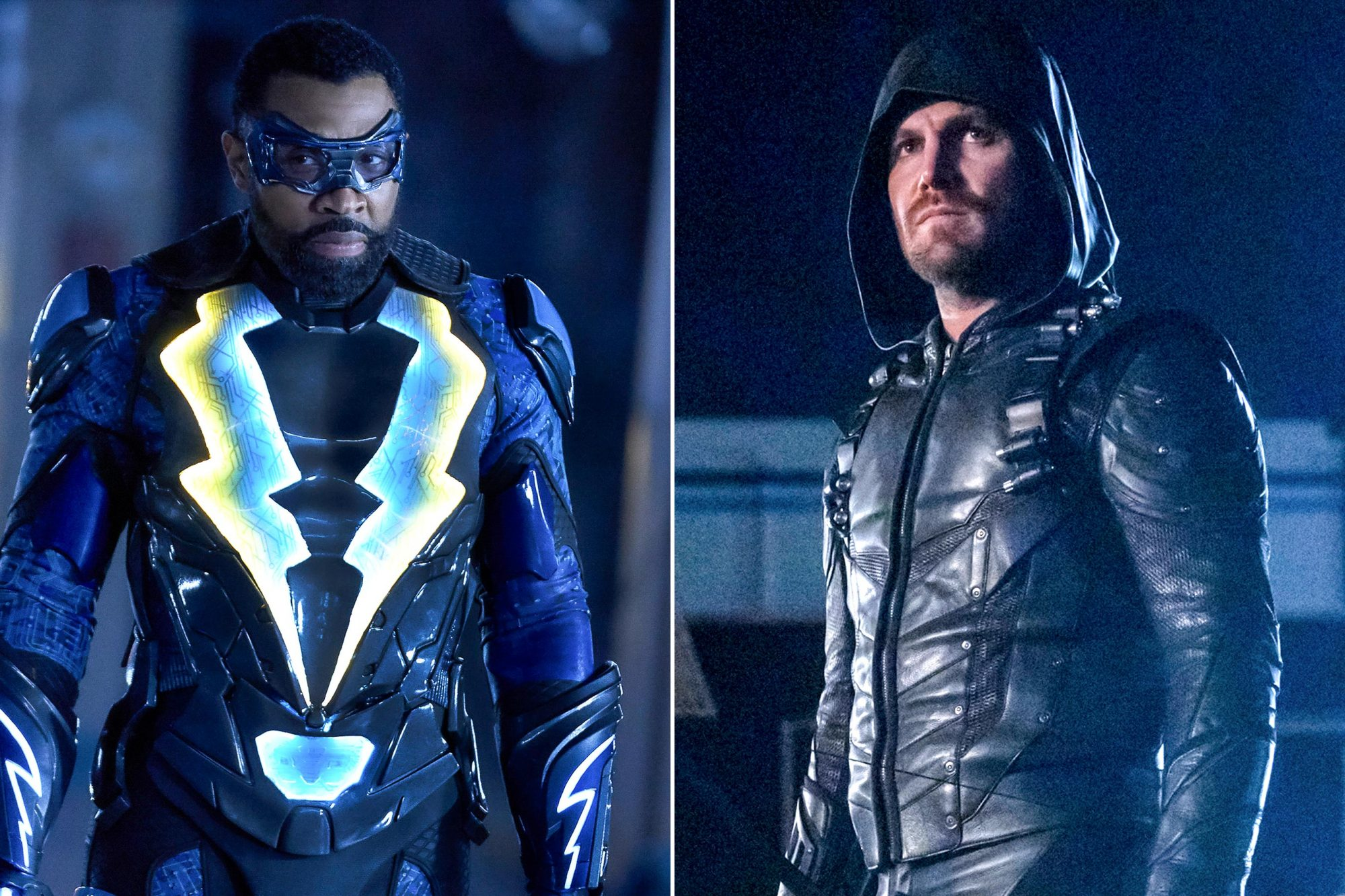 Black Lightning; Arrow