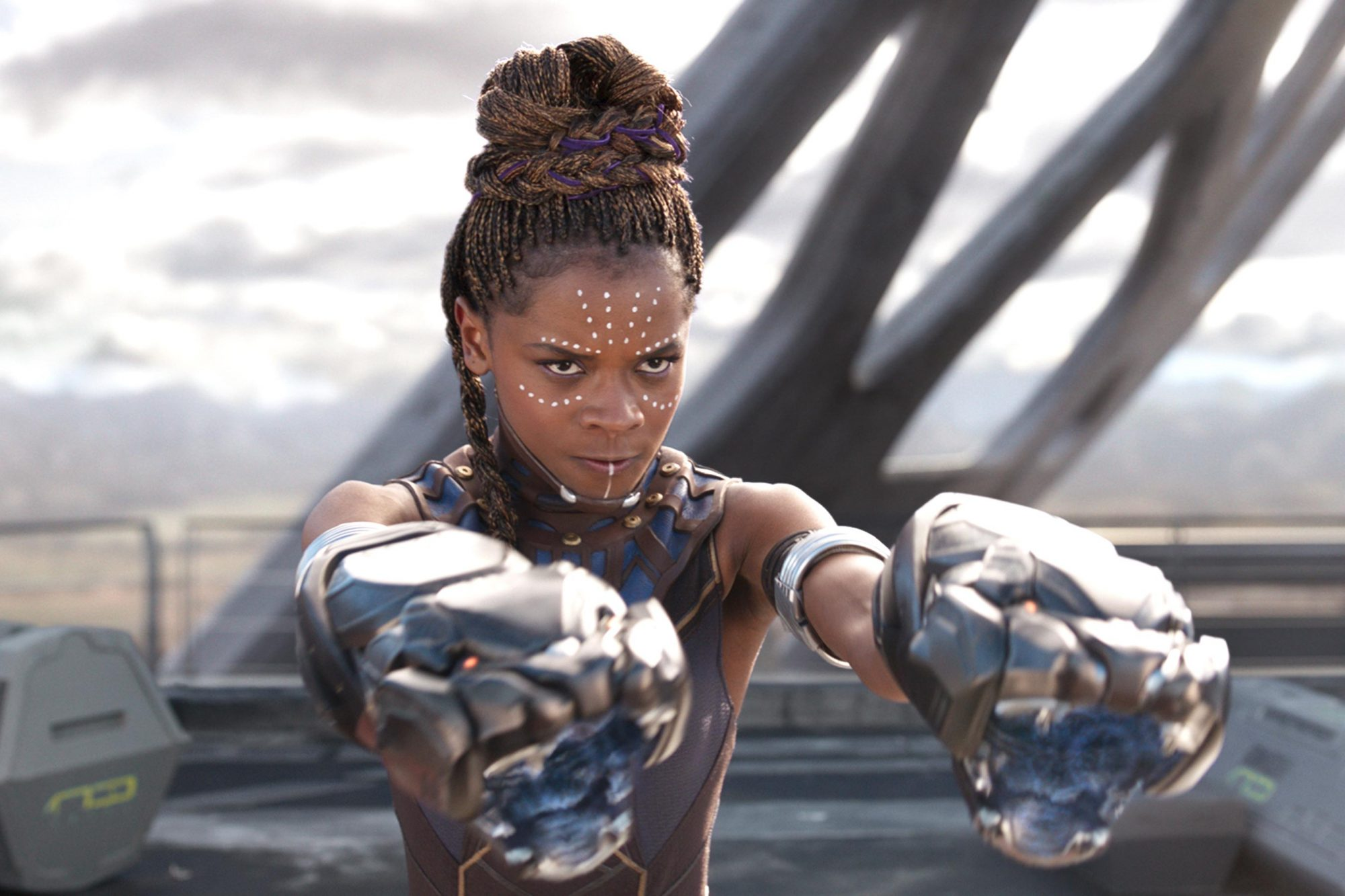 Letitia Wright in 'Black Panther'