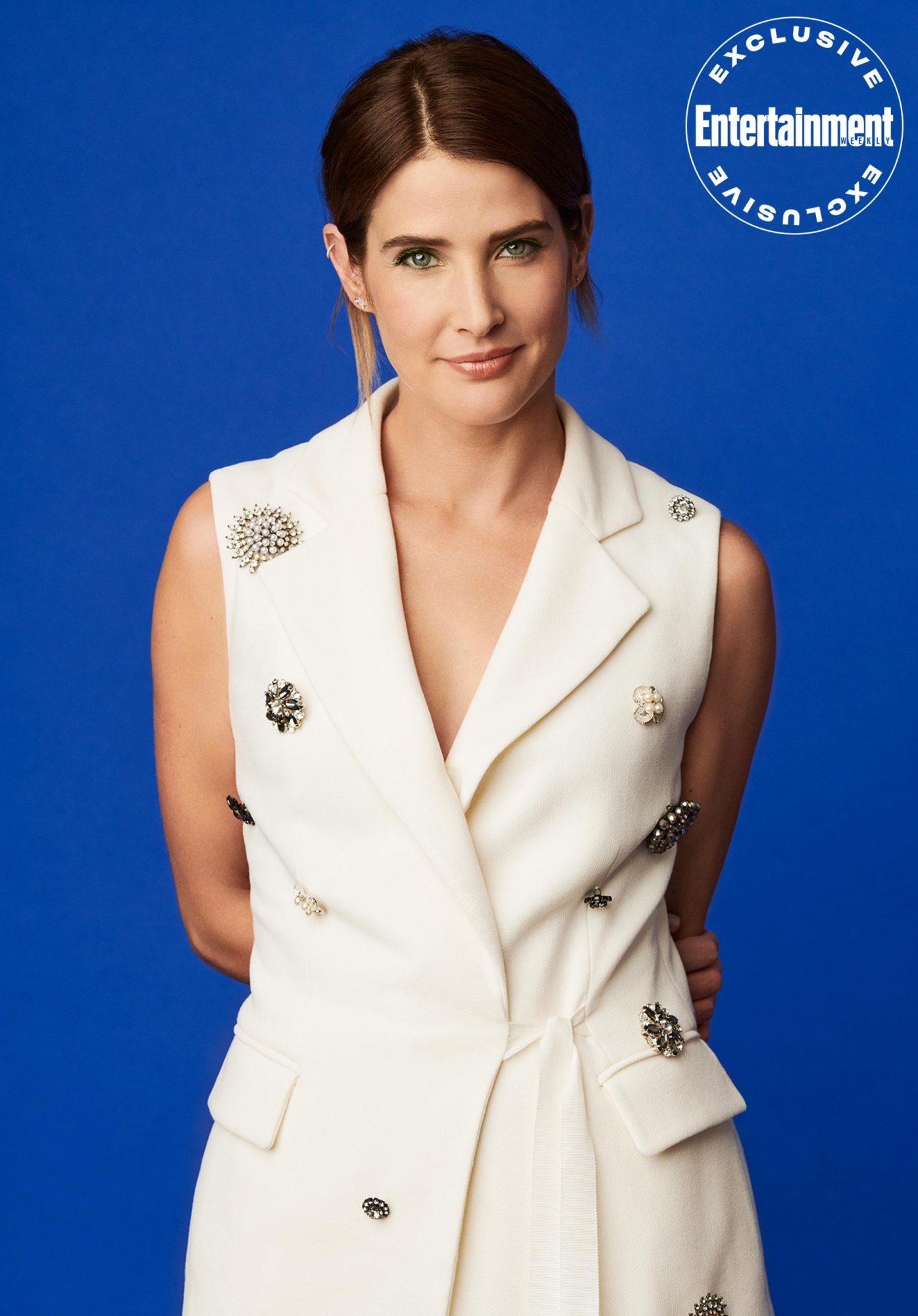 Cobie Smulders shot exclusively for EW
