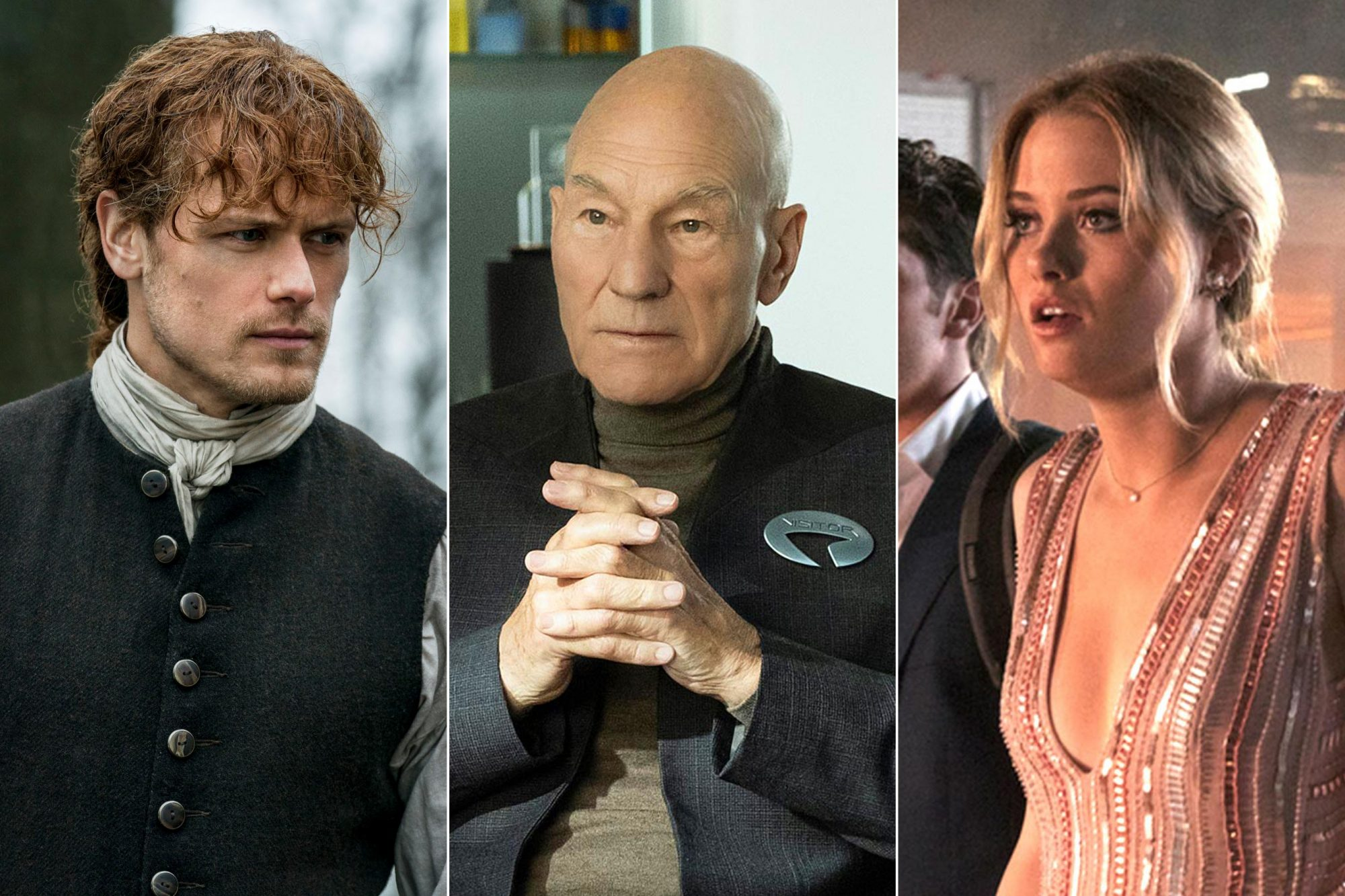 Outlander, Star trek: Picard, MARVEL'S RUNAWAYS
