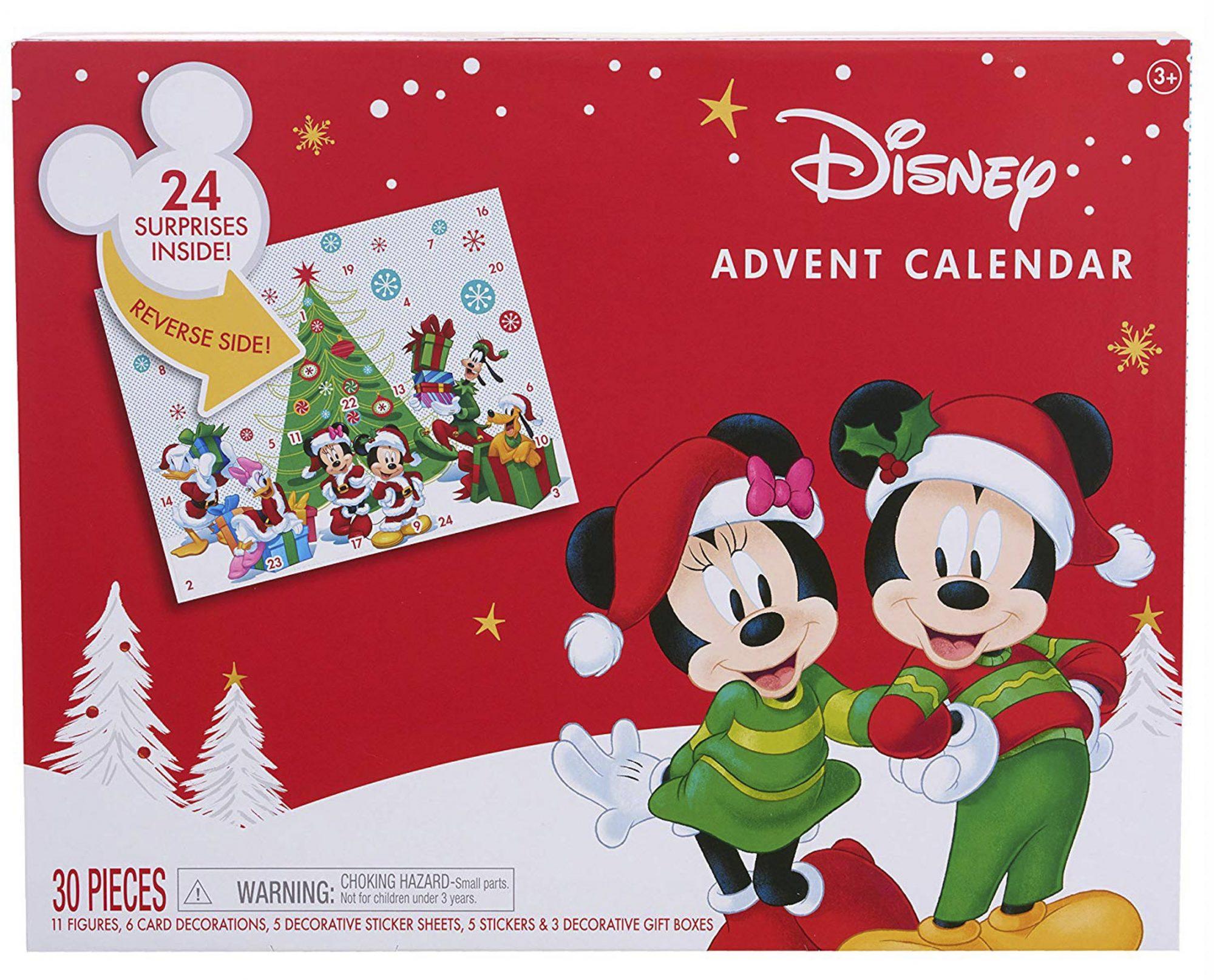 Disney Mickey Mouse Advent Calendar CR: Amazon