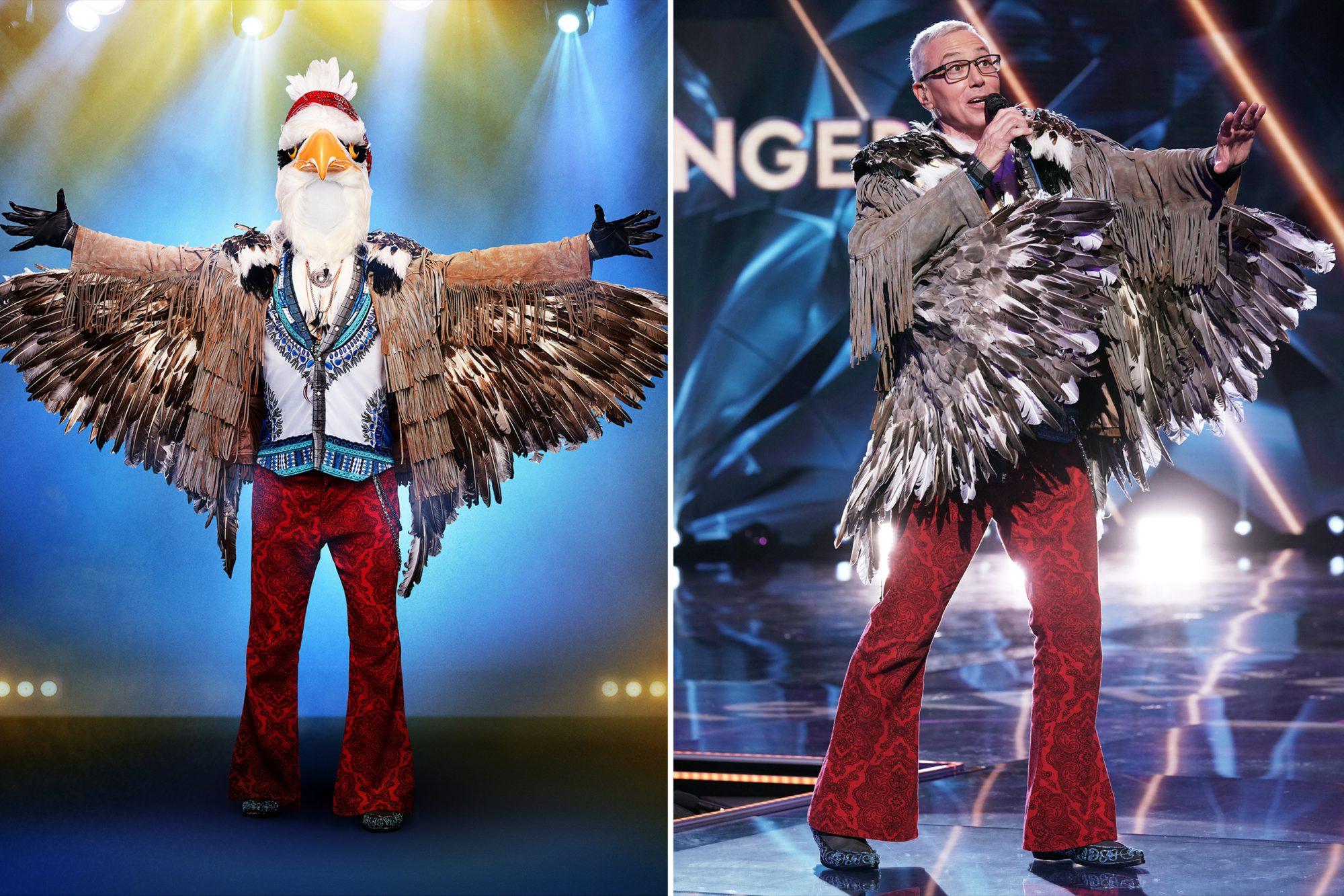 Dr. Drew THE MASKED SINGER Eagle