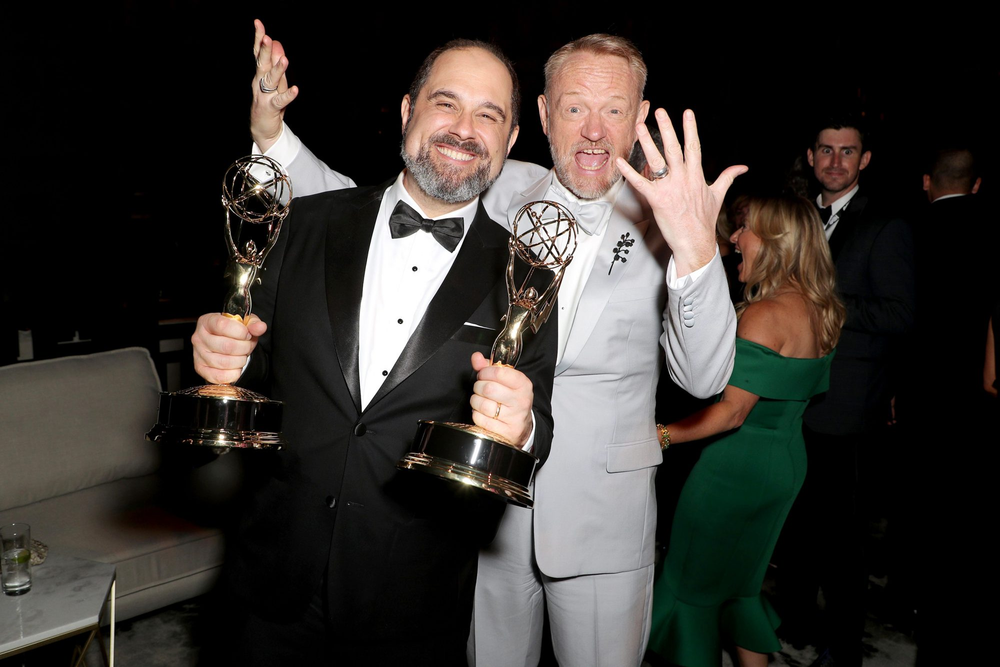 Craig Mazin and Jared Harris
