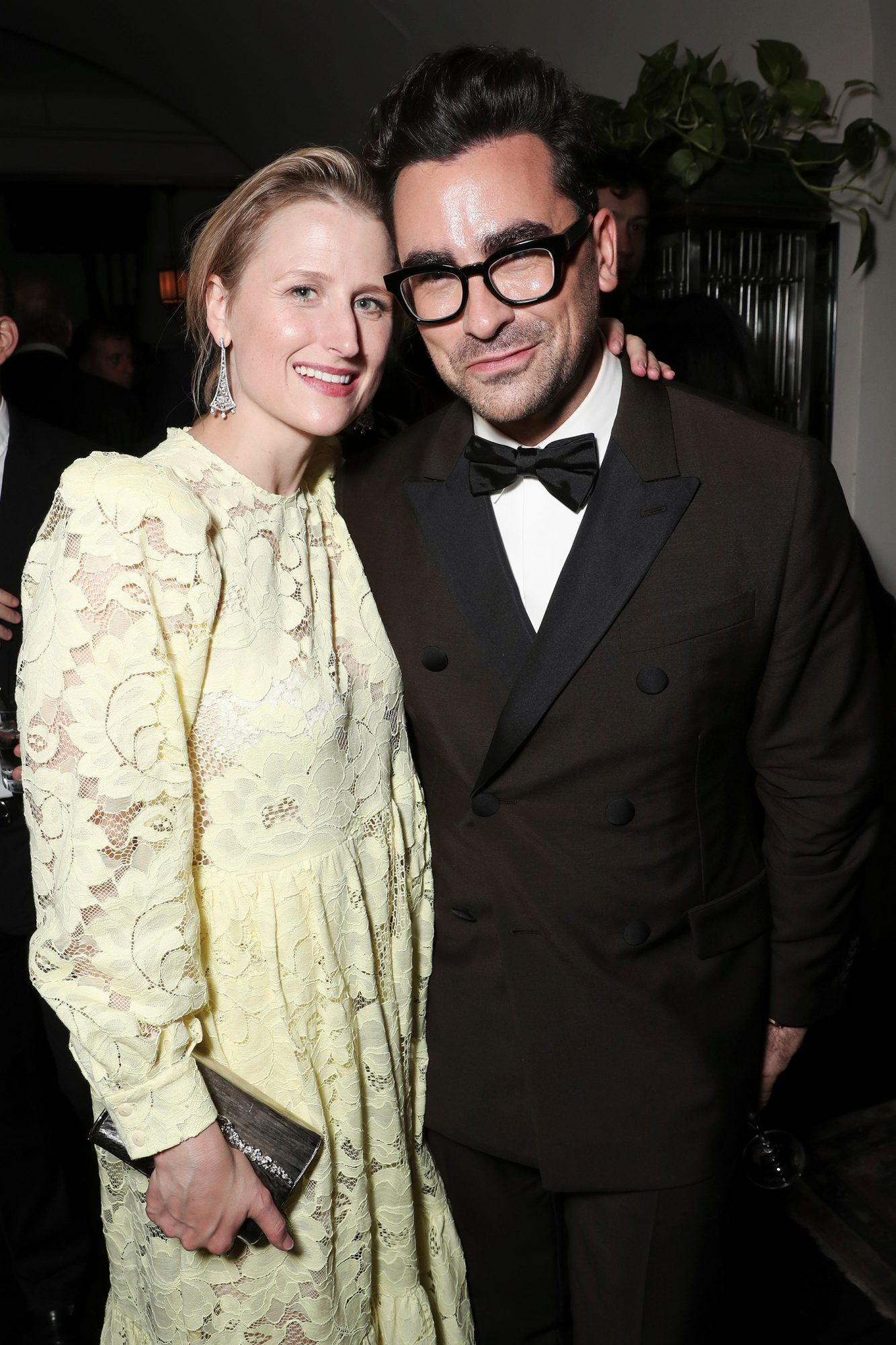 Grace Gummer and Daniel Levy