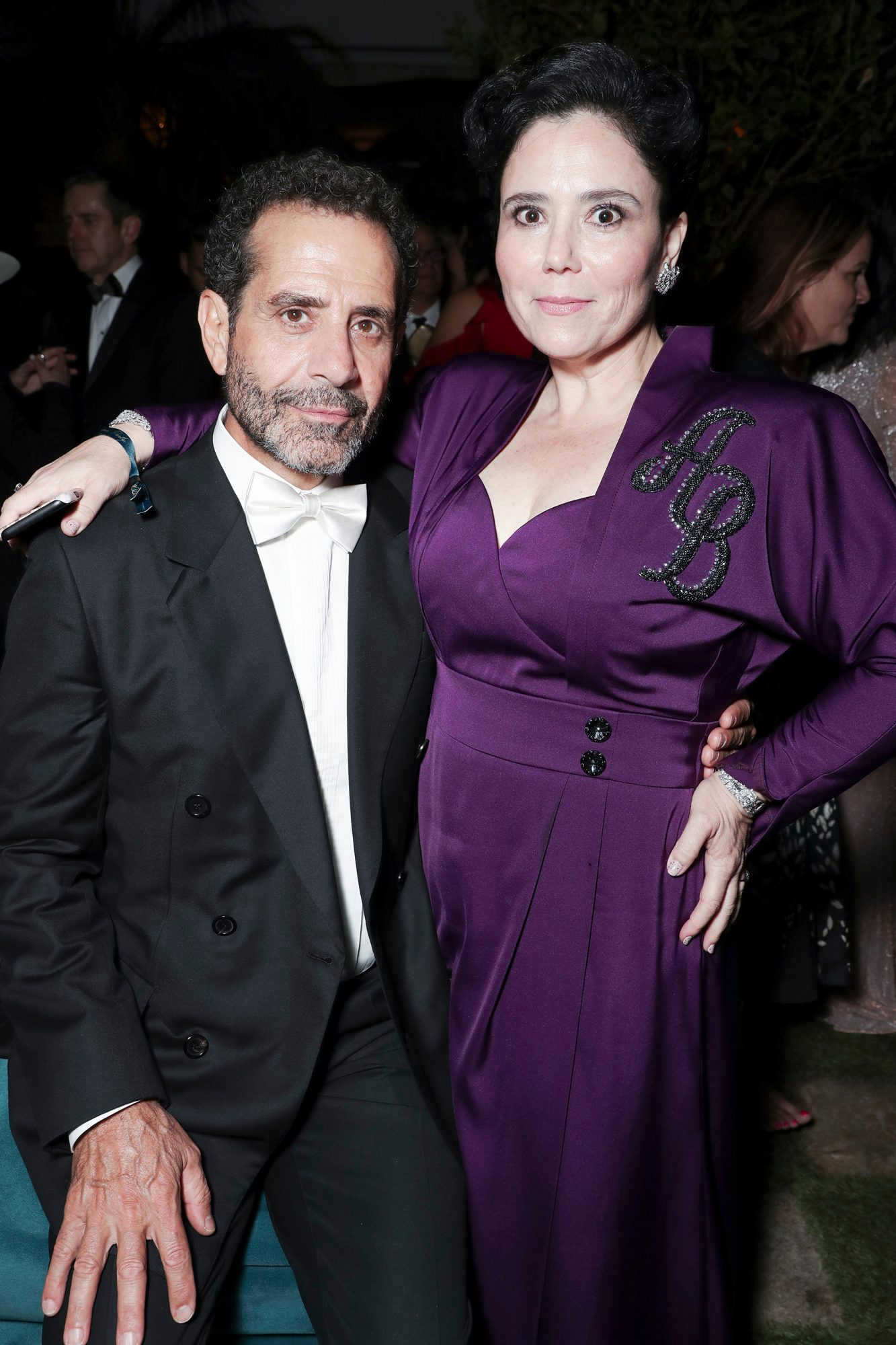 Tony Shalhoub and Alex Borstein
