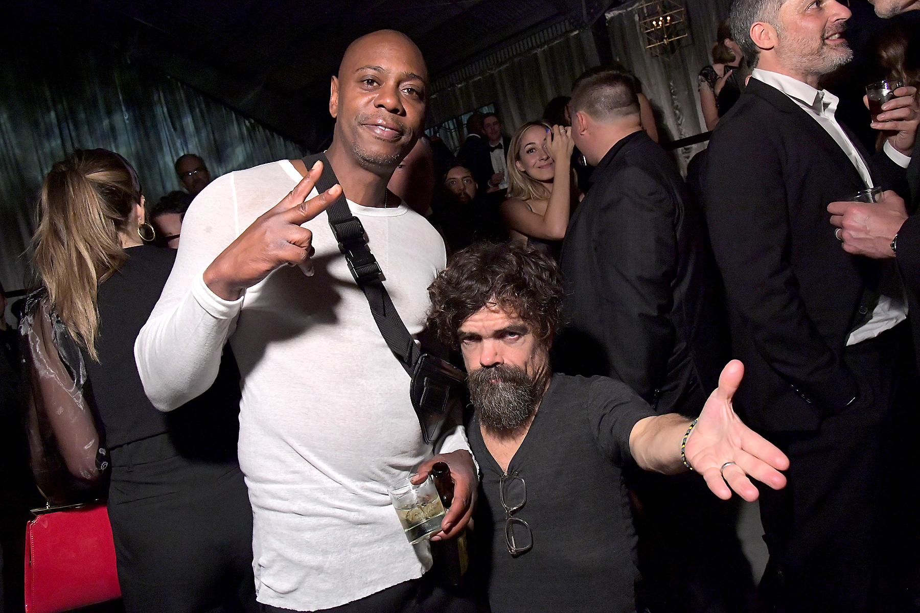 Dave Chappelle and Peter Dinklage