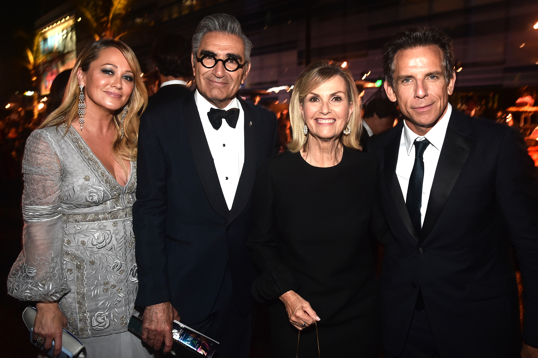 Christine Taylor, Eugene Levy, Deborah Divine and Ben Stiller