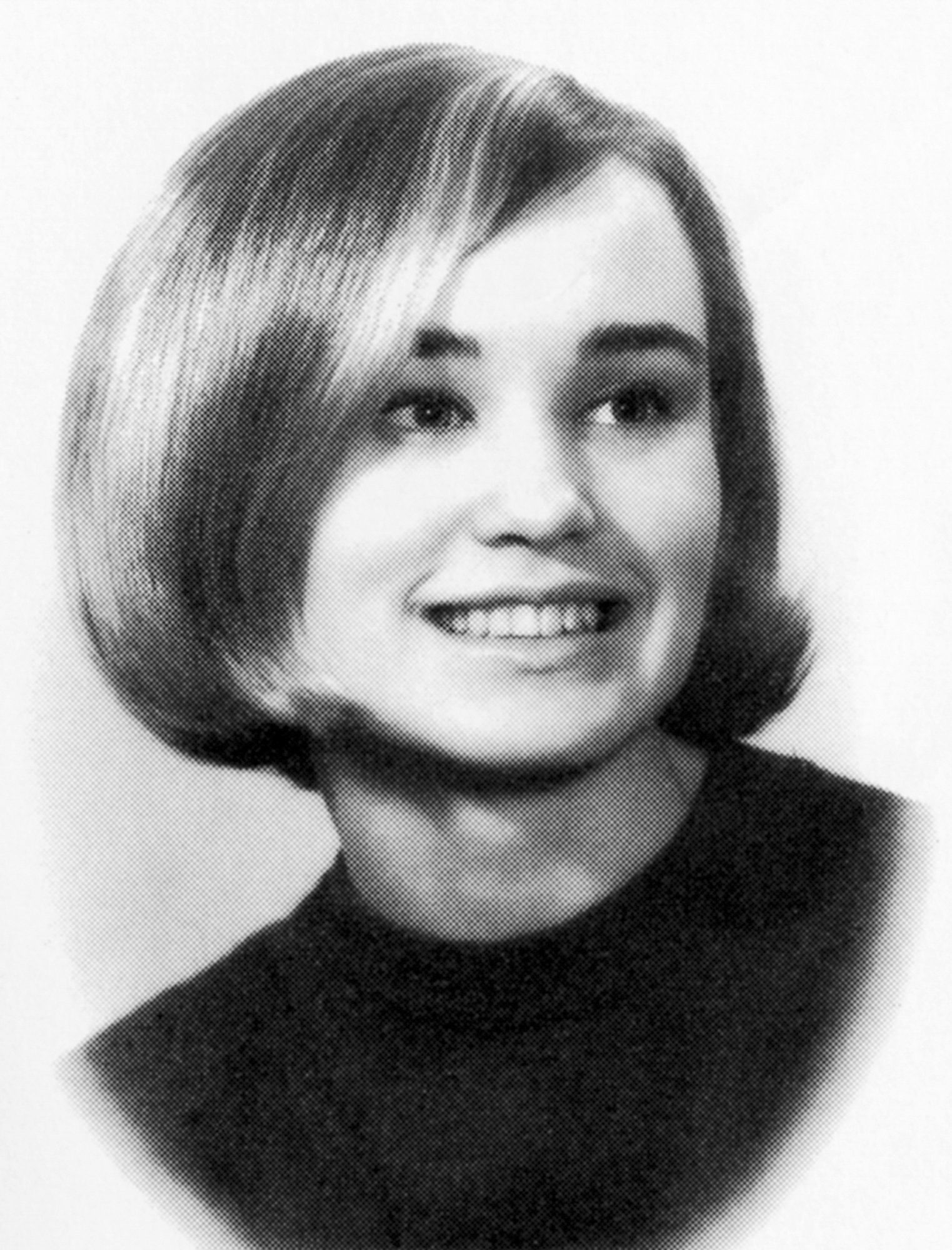 Jessica Lange Senior Year 1967 Cloquet High School, Cloquet, MN Credit: Seth Poppel/Yearbook Library