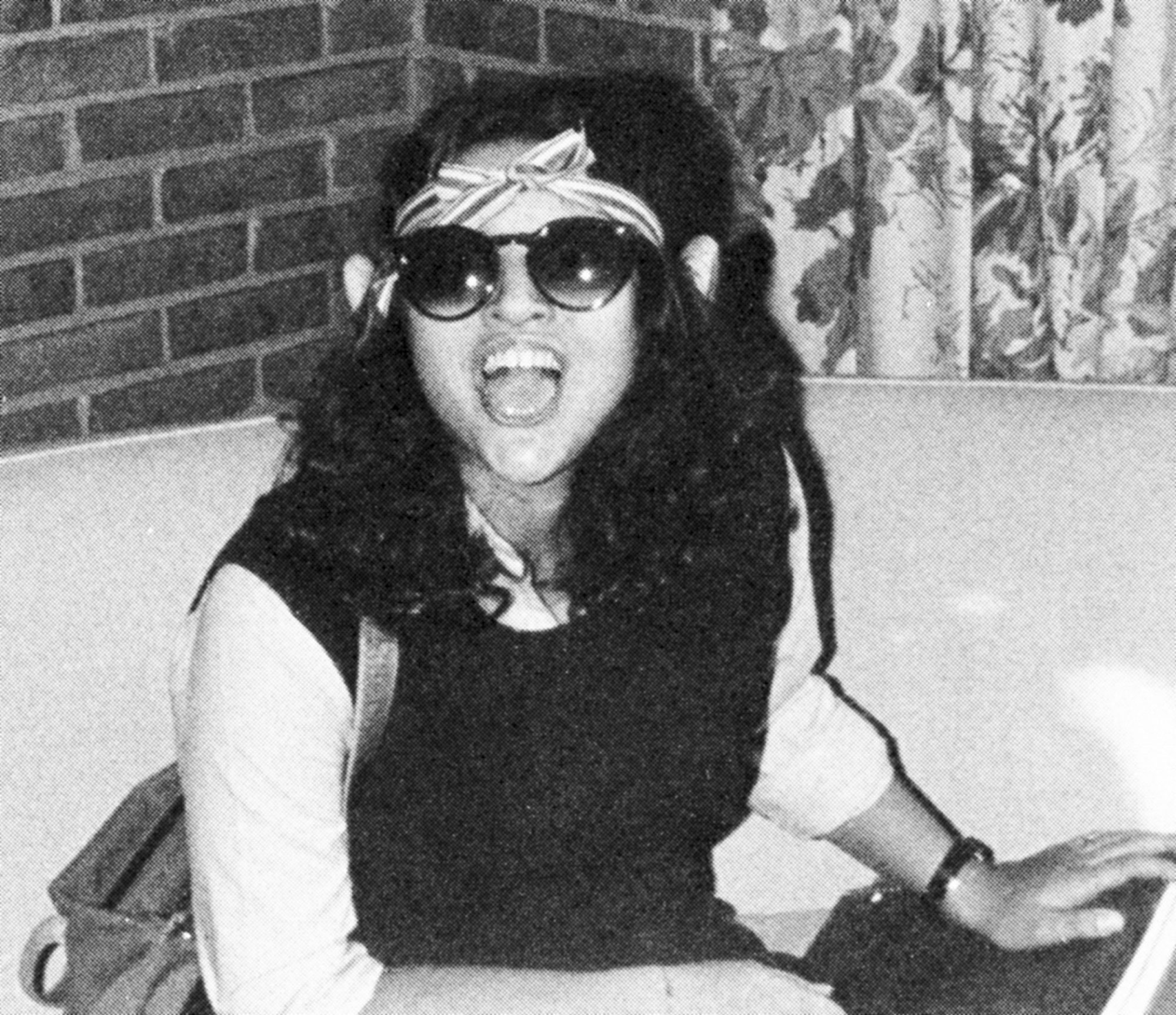 Julia Louis-Dreyfus Senior Year 1979 Holton Arms School, Bethesda, MD Candid Credit: Seth Poppel/Yearbook Library