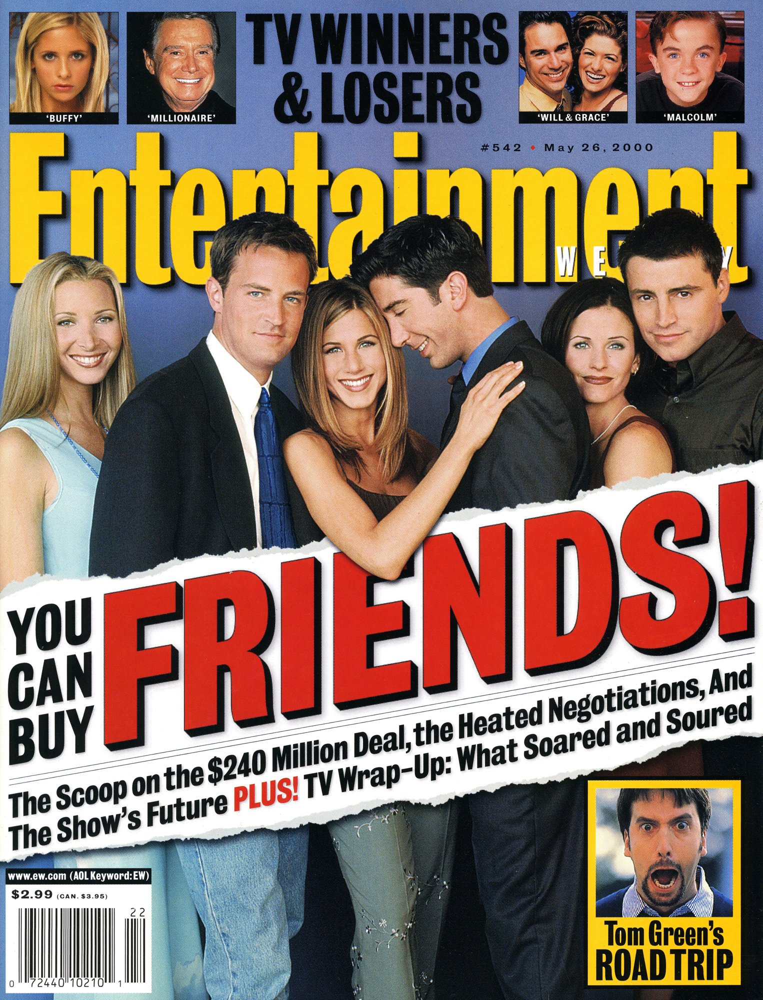 Entertainment Weekly Friends Cover#542May 26, 2000