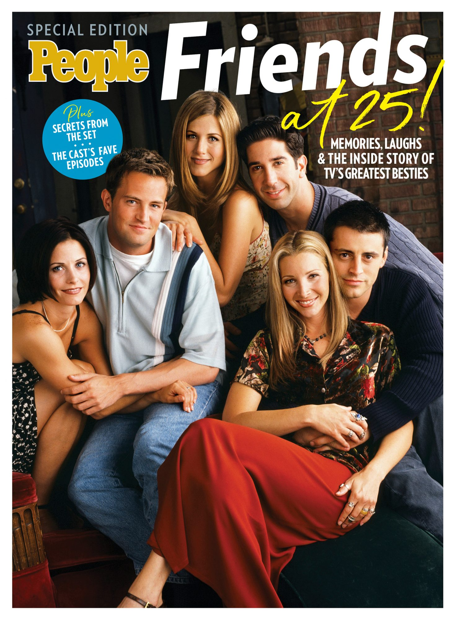 PEOPLE Special Edition: Friends at 25!