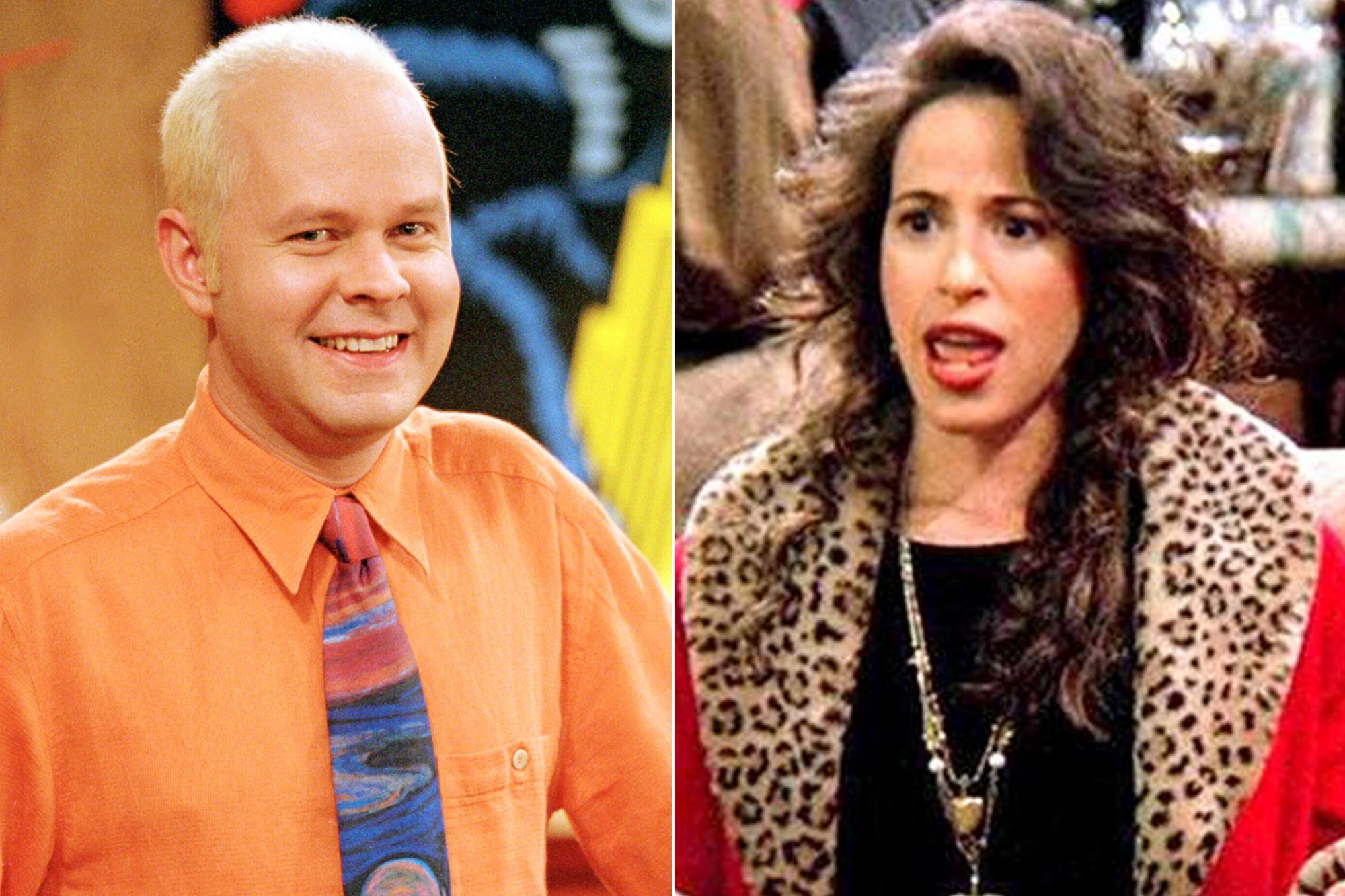 FRIENDS -- Season 10 -- Pictured: James Michael Tyler as Gunther (Photo by NBC/NBCU Photo Bank via Getty Images) Friends (screen grab) Maggie Wheeler as Janice CR: NBC