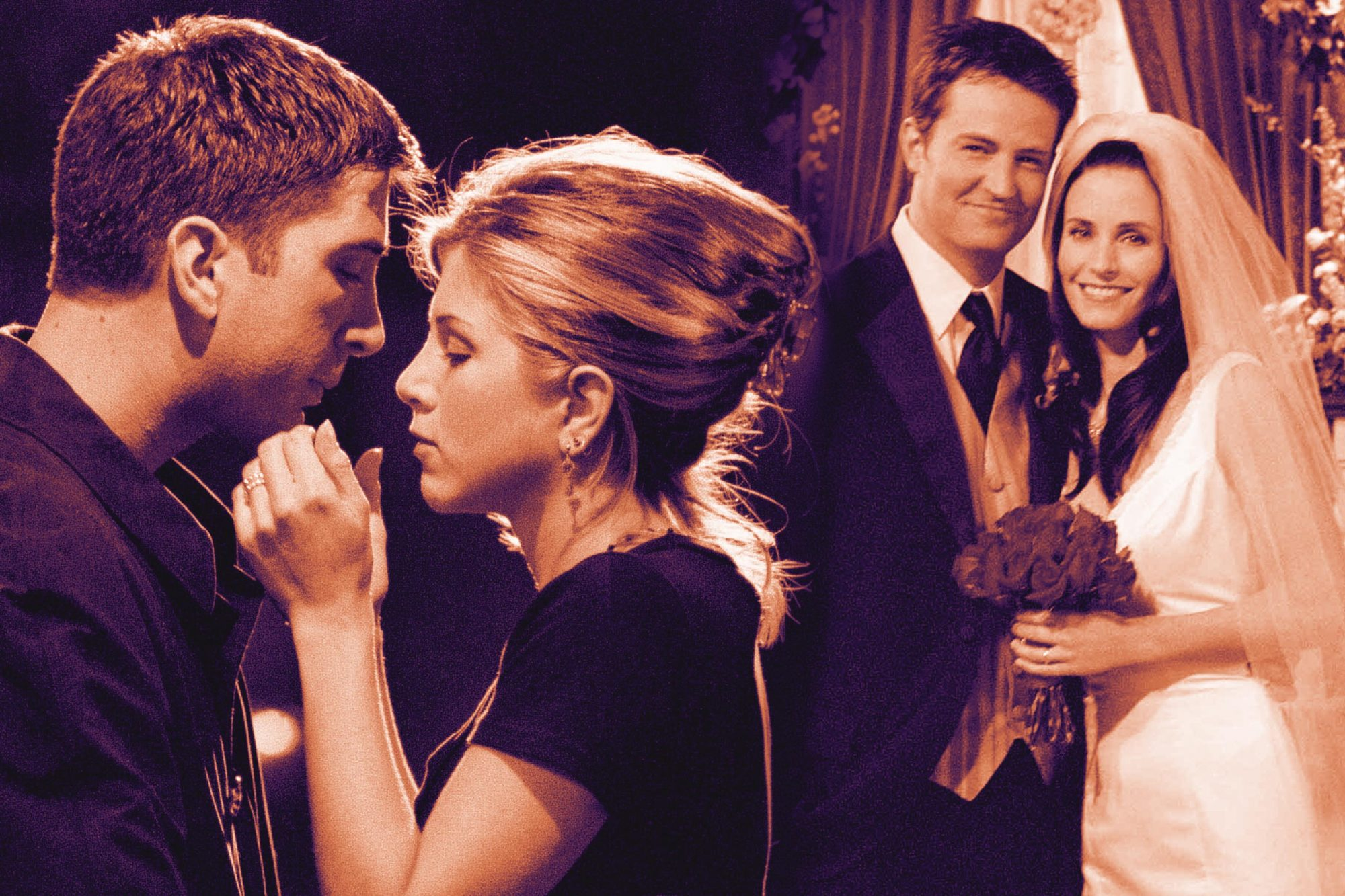 Friends Most Romantic Moments