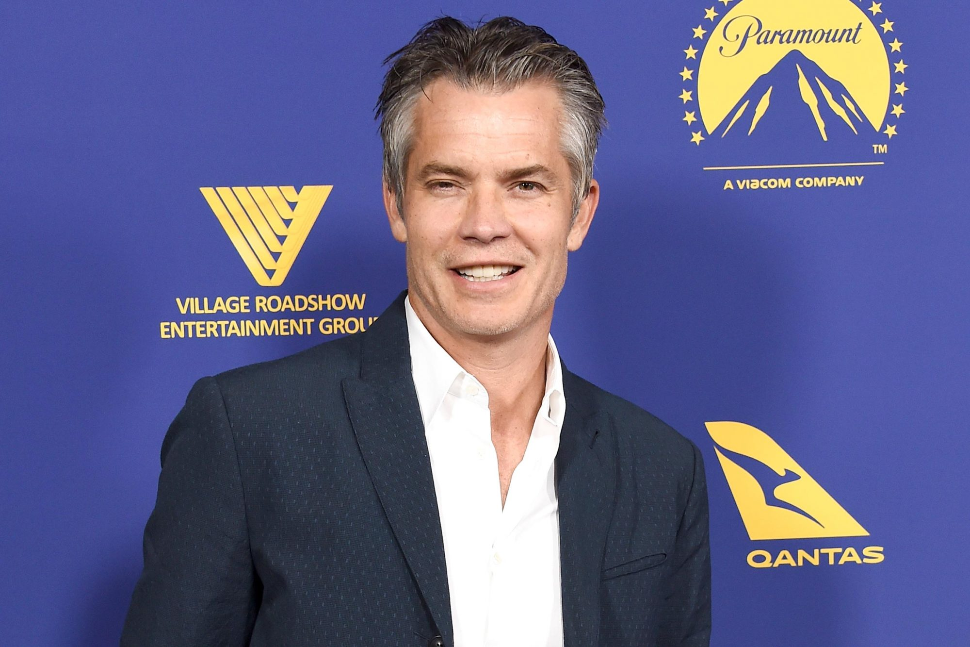 LOS ANGELES, CA - OCTOBER 24: Actor Timothy Olyphant arrives at the 7th Annual Australians In Film Award & Benefit Dinner at Paramount Studios on October 24, 2018 in Los Angeles, California. (Photo by Gregg DeGuire/Getty Images)