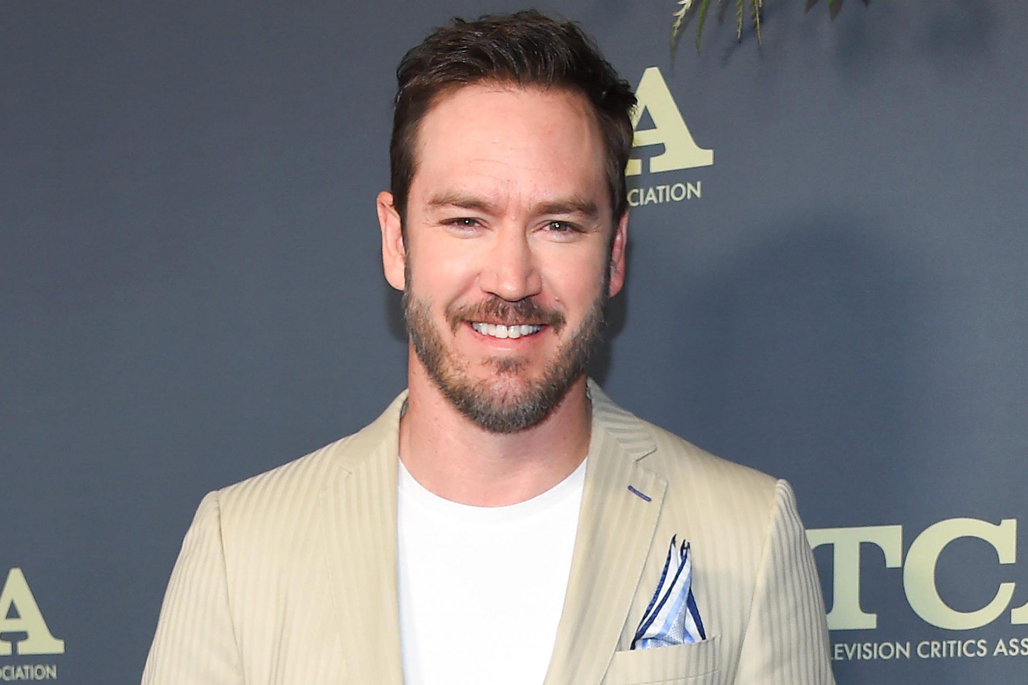Actor Mark-Paul Gosselaar arrives at the FOX Winter TCA All-Star Party 2019 at The Fig House in Los Angeles, on February 6, 2019. (Photo by LISA O'CONNOR / AFP) (Photo credit should read LISA O'CONNOR/AFP/Getty Images)