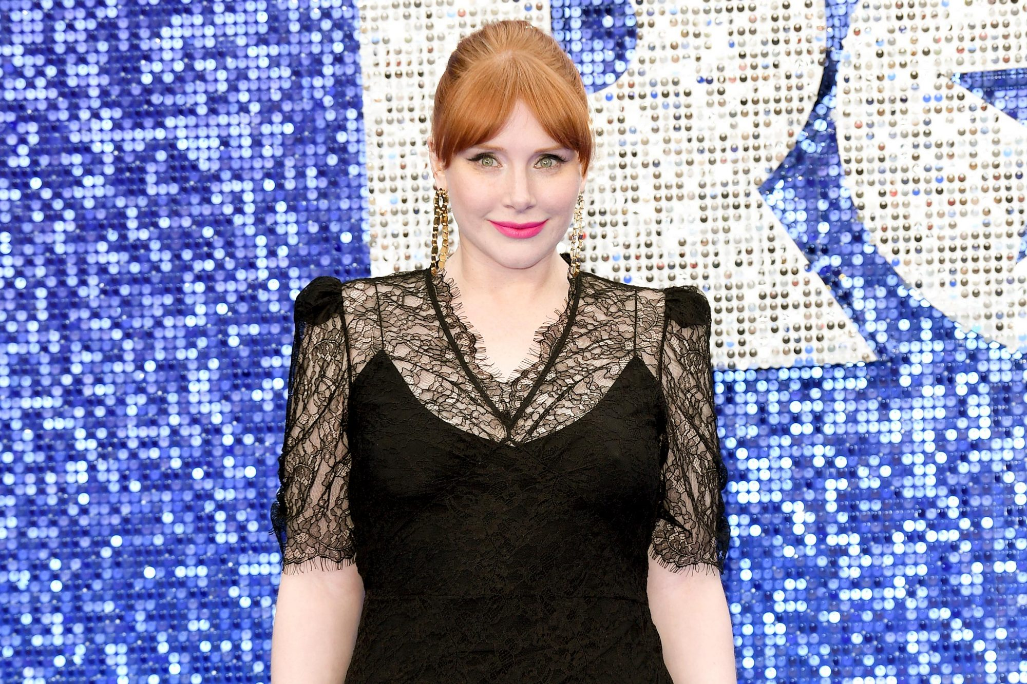 "LONDON, ENGLAND - MAY 20: Bryce Dallas Howard attends the ""Rocketman"" UK premiere at Odeon Luxe Leicester Square on May 20, 2019 in London, England. (Photo by Karwai Tang/WireImage)"