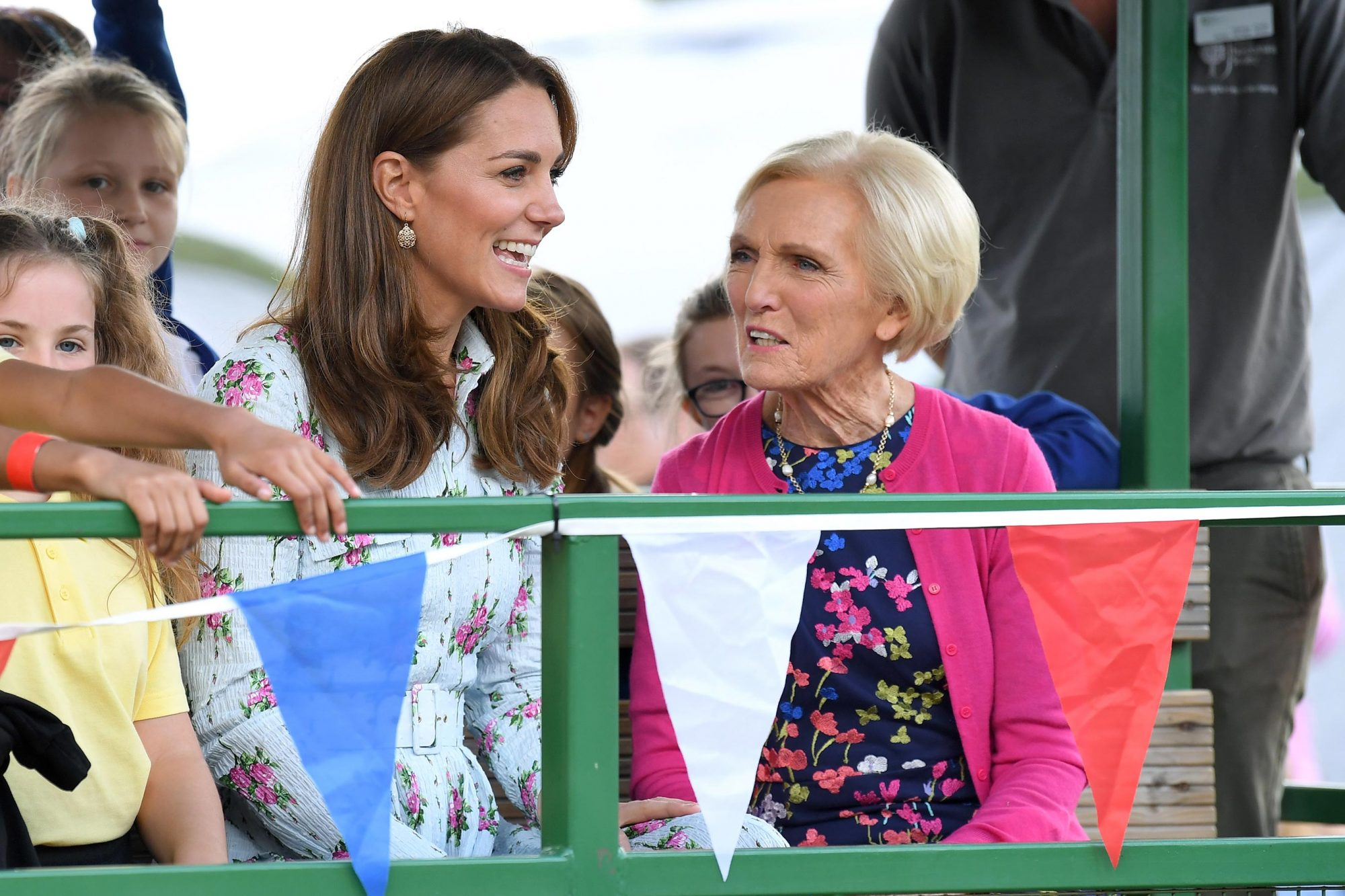 Catherine, Duchess of Cambridge and Mary Berry