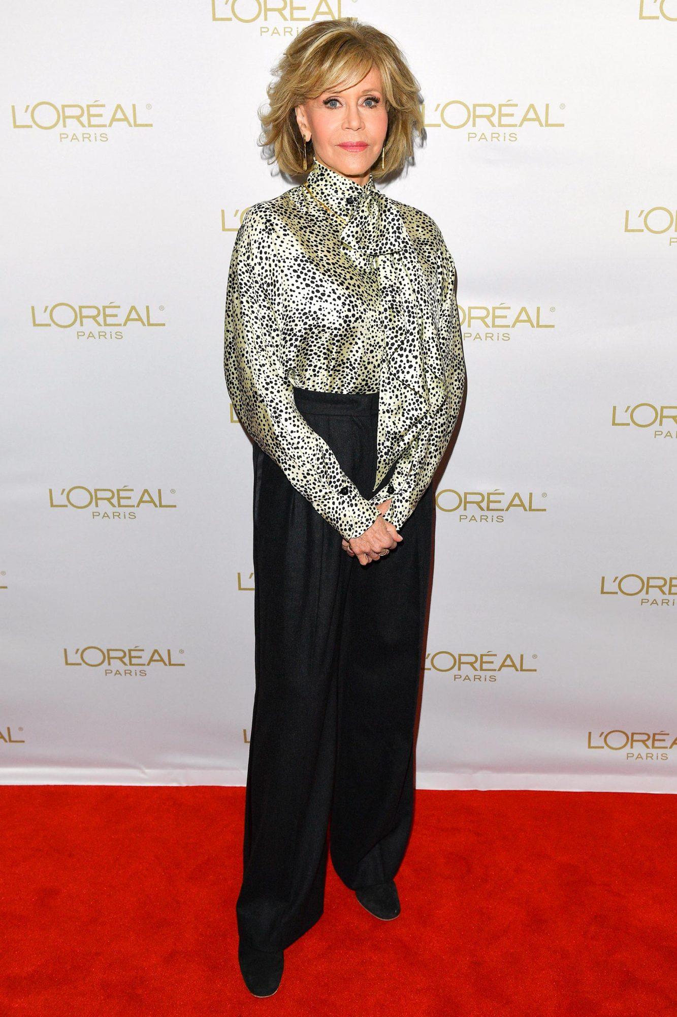 L'Oréal Presents In Conversation with Jane Fonda During 2019 Toronto International Film Festival