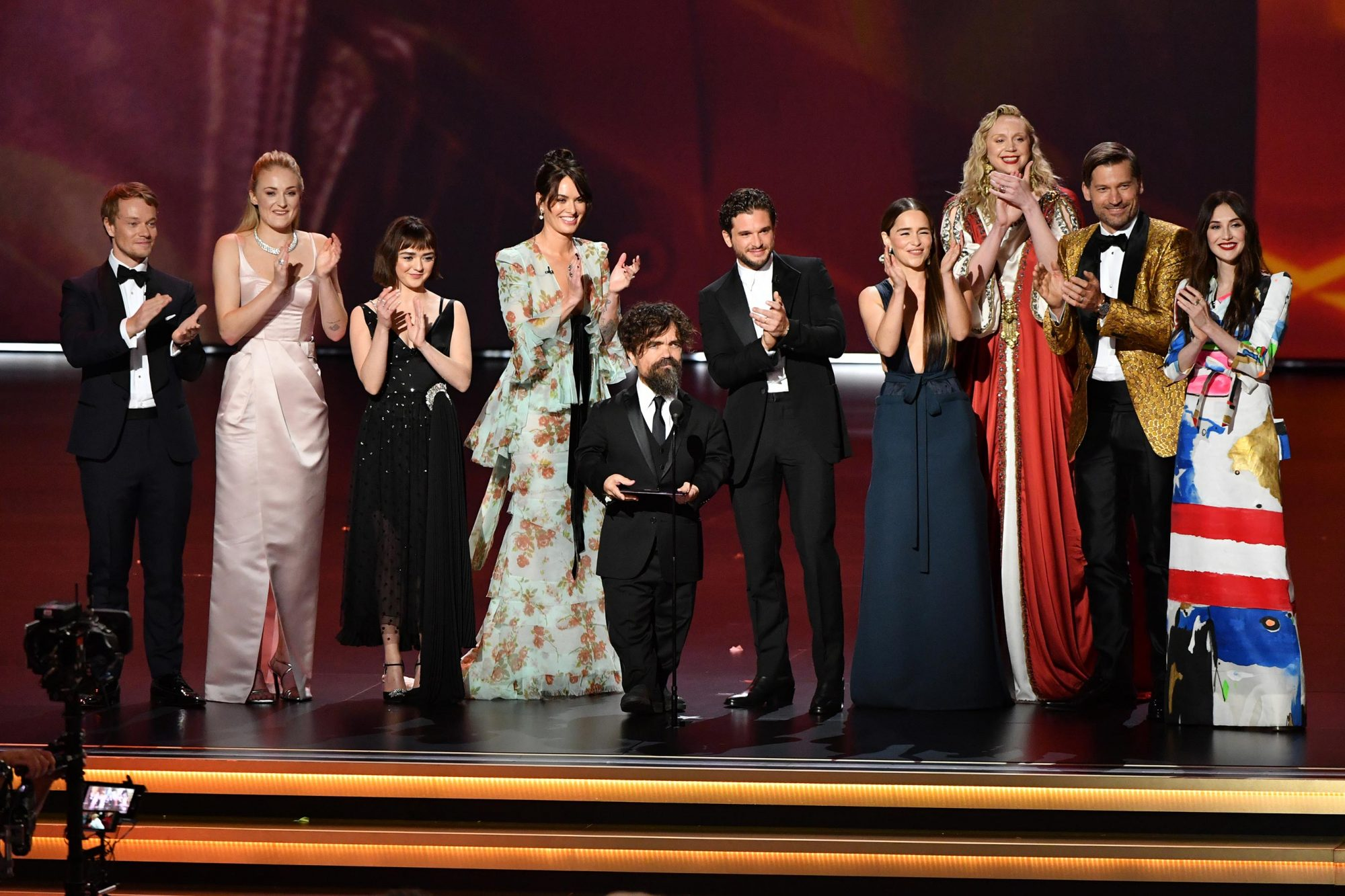 Game of Thrones cast bids the Emmys adieu