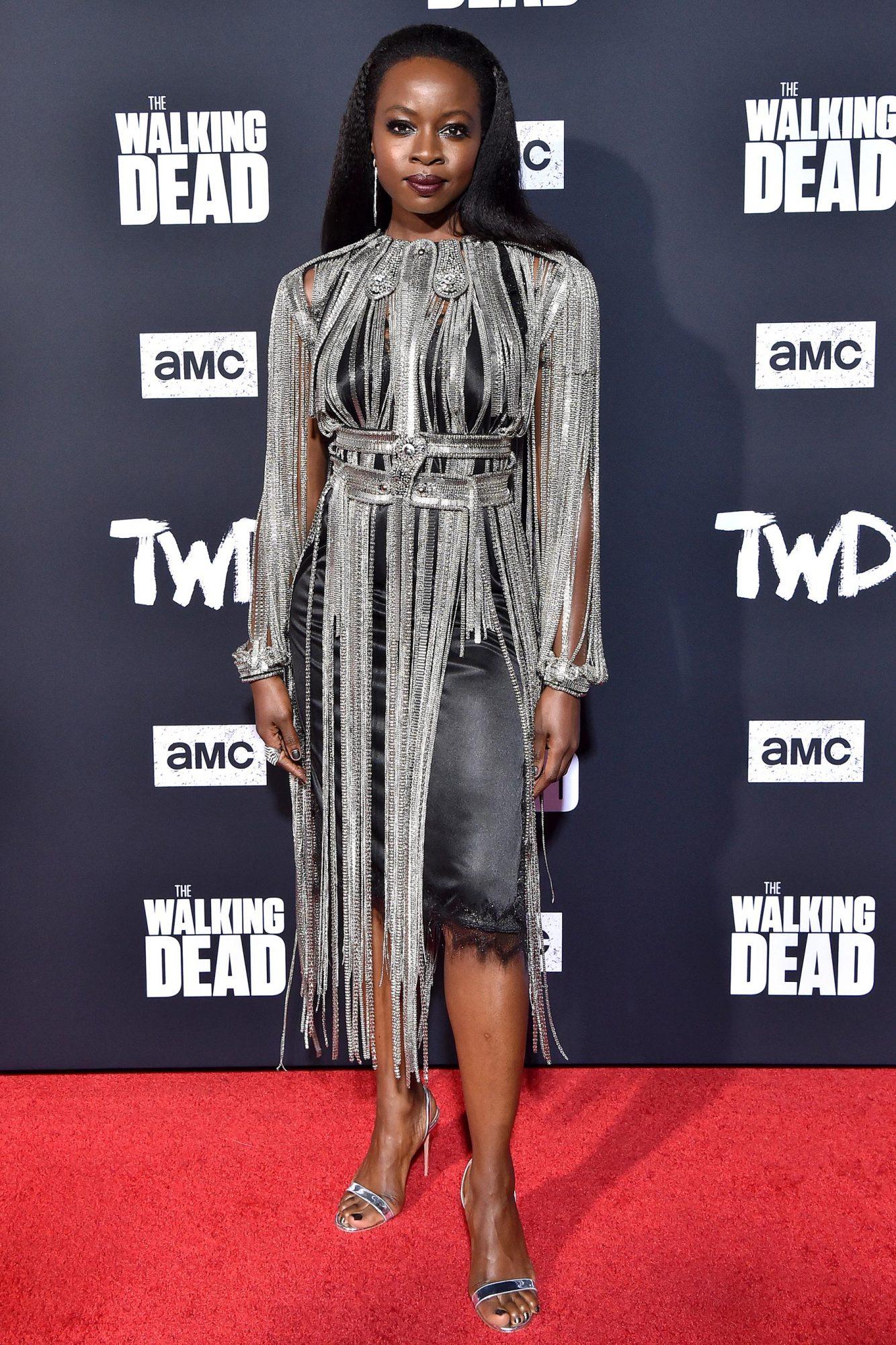 Walking Dead Premiere - Danai Gurira