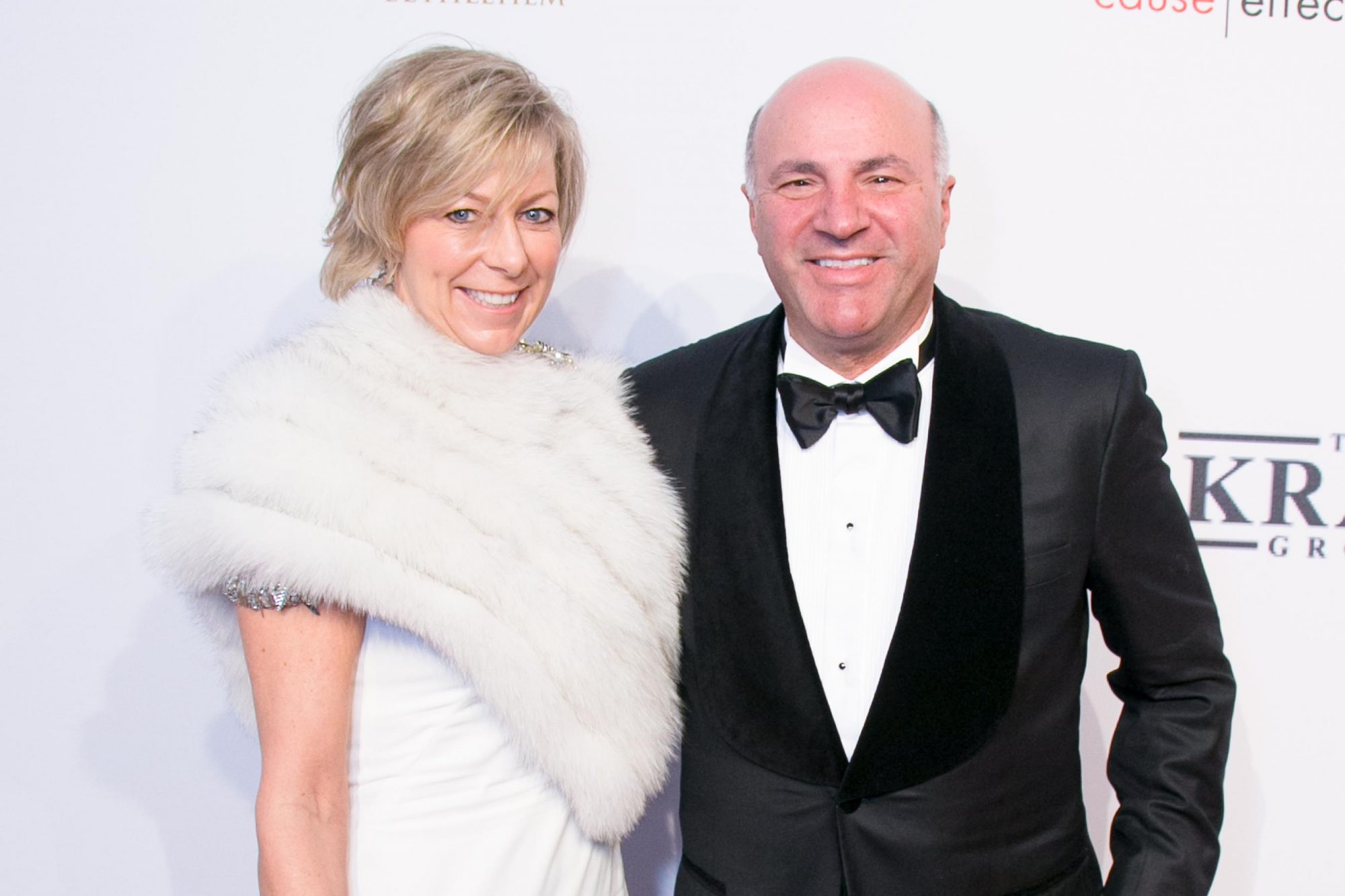 NEW YORK, NY - NOVEMBER 02: Linda O'Leary and Kevin O'Leary attend AIDS Foundation 15th Annual New York Benefit Gala at Cipriani, Wall Street on November 2, 2016 in New York City. (Photo by Victor Hugo/Patrick McMullan via Getty Images)