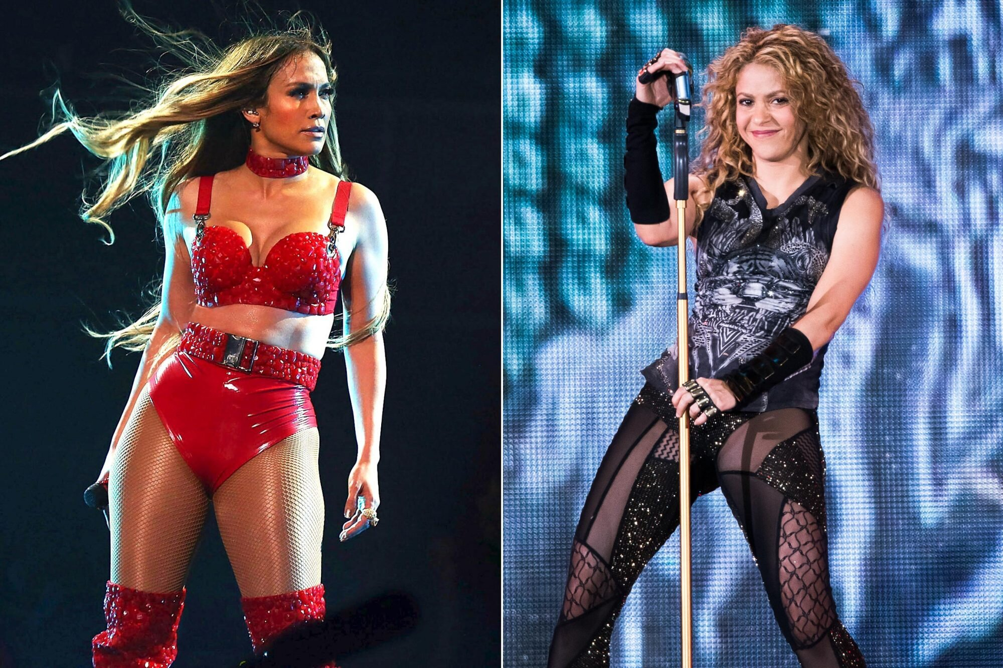 Jennifer Lopez Shakira Will Be The 2020 Super Bowl Halftime Performers Ew Com