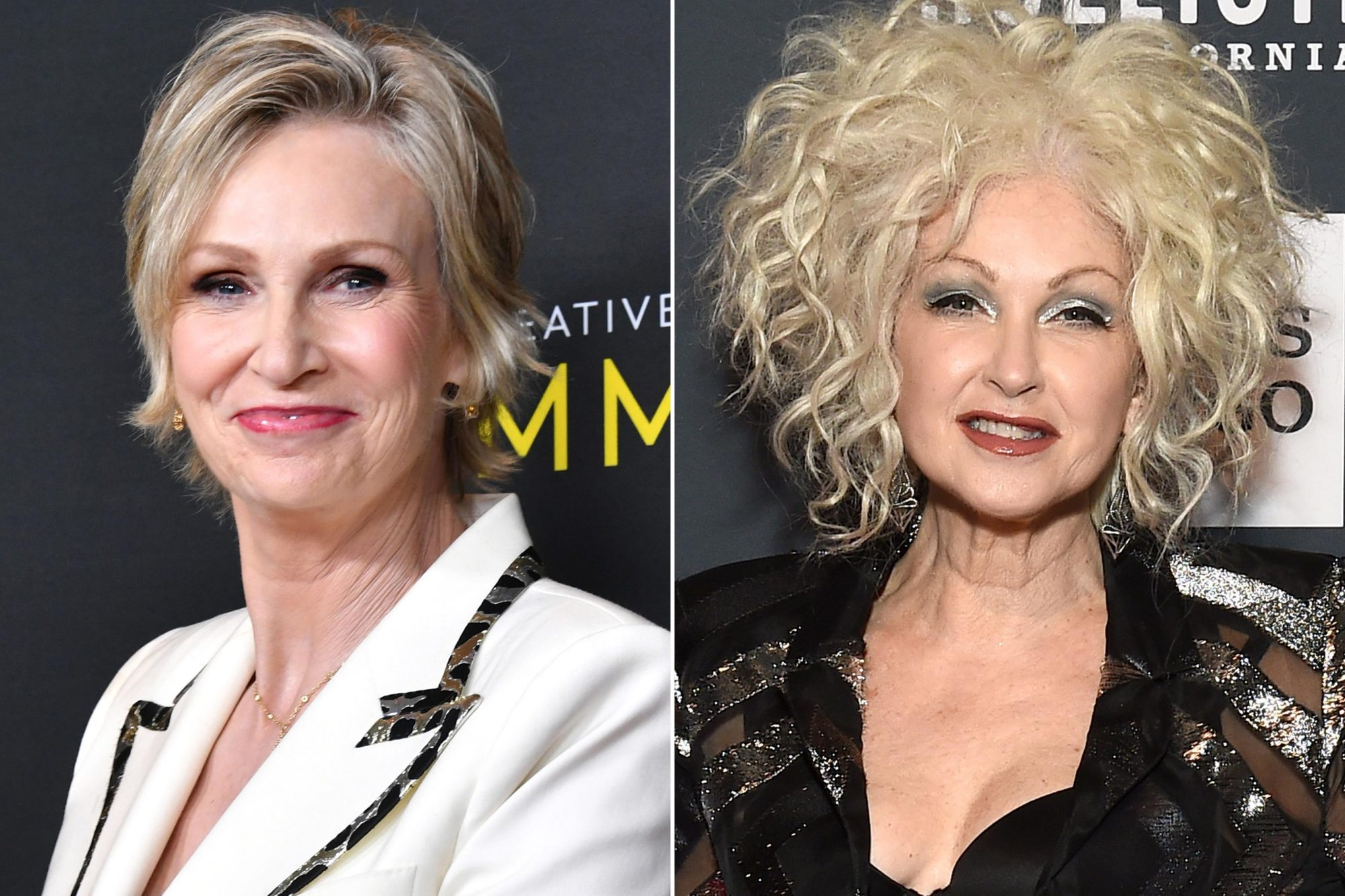 Jane Lynch; Cyndi Lauper