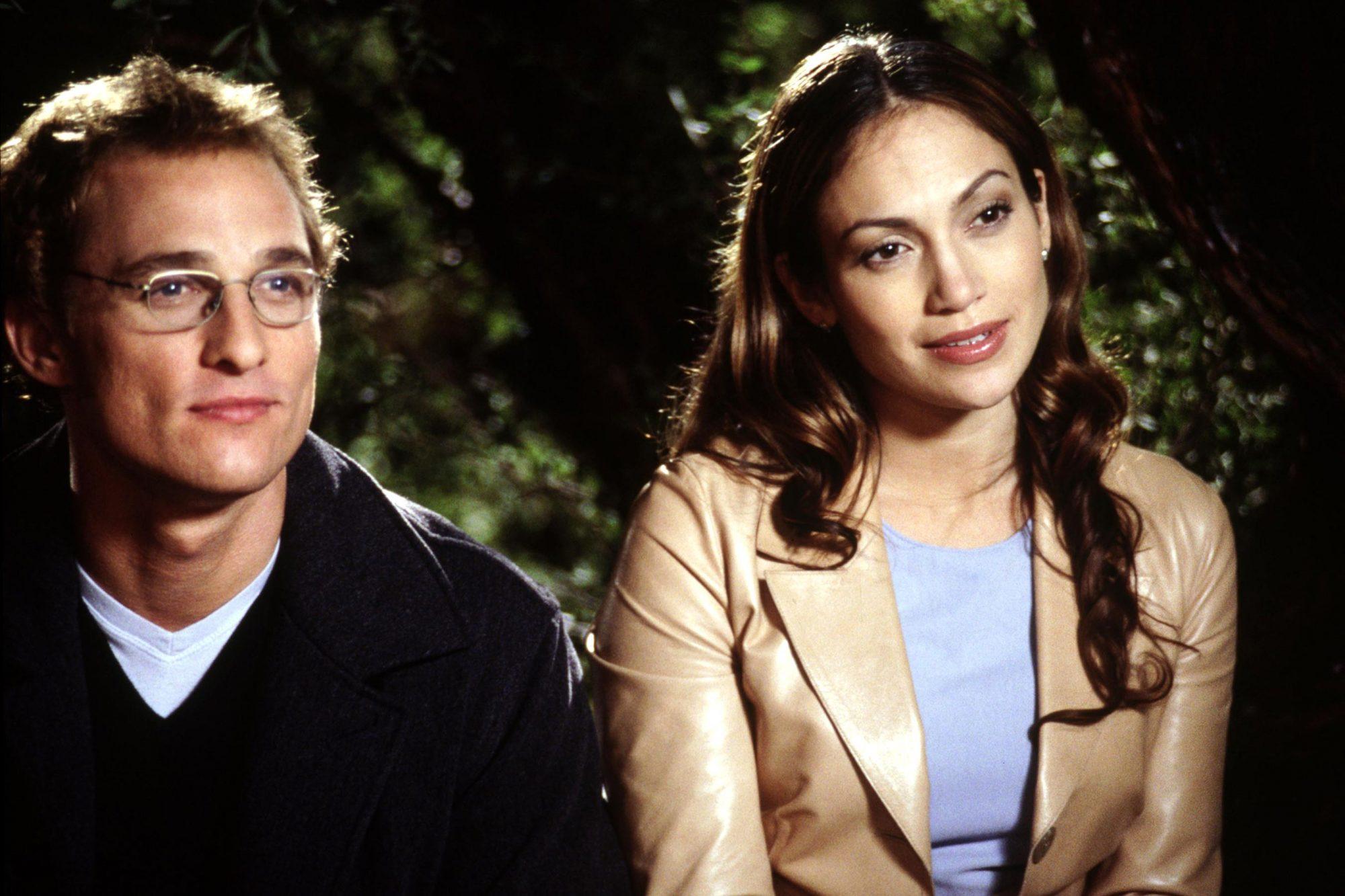 THE WEDDING PLANNER, Matthew McConaughey, Jennifer Lopez, 2001, (c) Columbia/courtesy Everett Collec