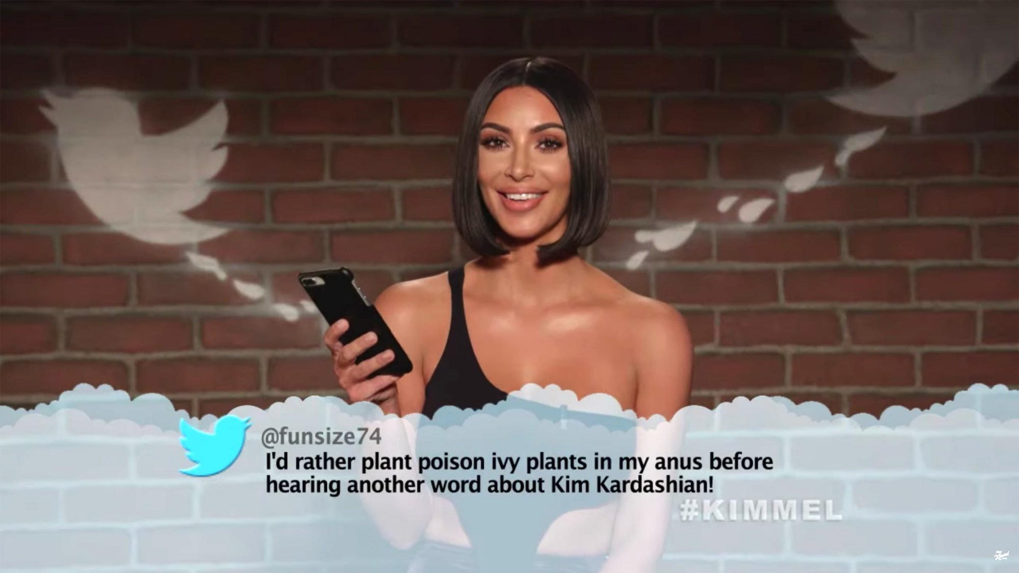 Jimmy Kimmel Live Celebrities Read Mean Tweets #12