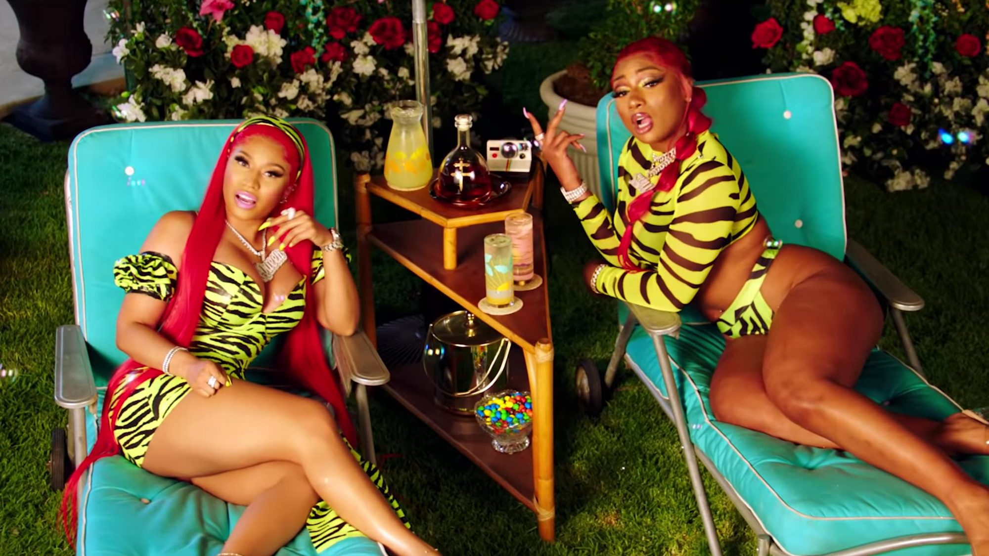 Megan Thee Stallion - Hot Girl Summer ft. Nicki Minaj & Ty Dolla $ign [Official Video] (screen grab) https://www.youtube.com/watch?v=FbcLcSY2au4 CR: Megan Thee Stallion/YouTube