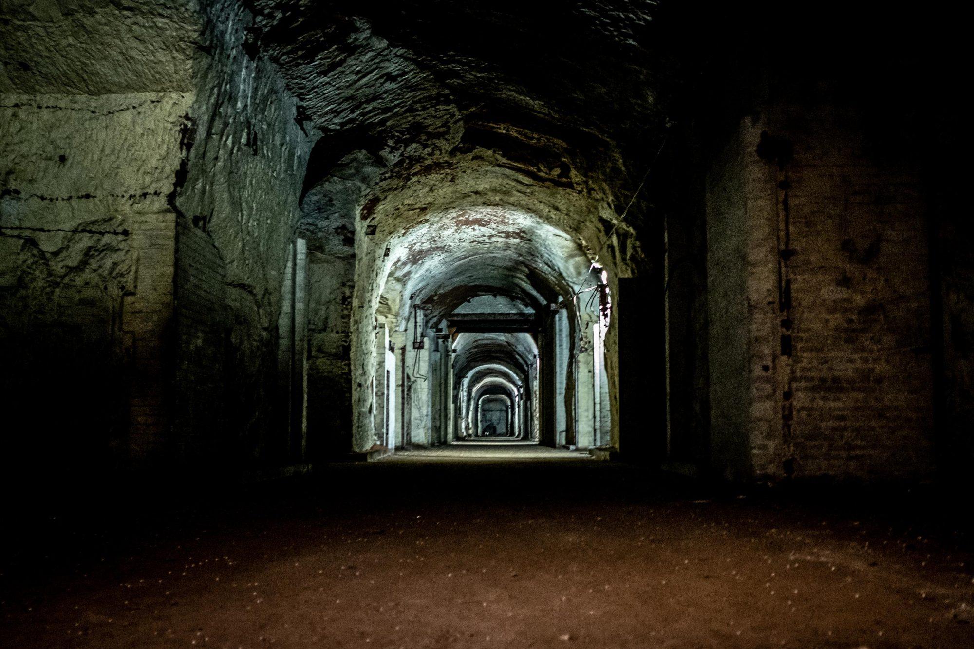 Interior, Drakelow Tunnels.