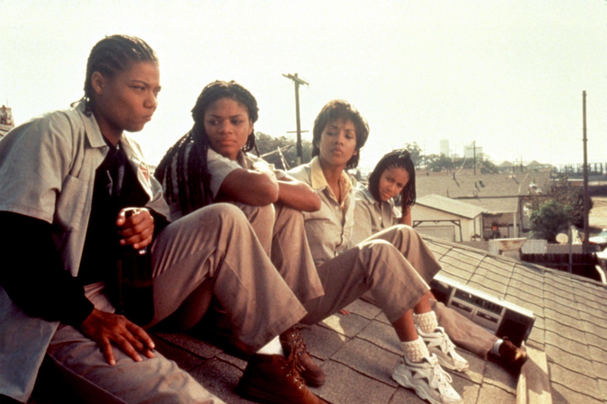 SET IT OFF, Queen Latifah, Kimberly Elise, Vivica A. Fox, Jada Pinkett, 1996, (c)New Line Cinema/courtesy Everett Collection