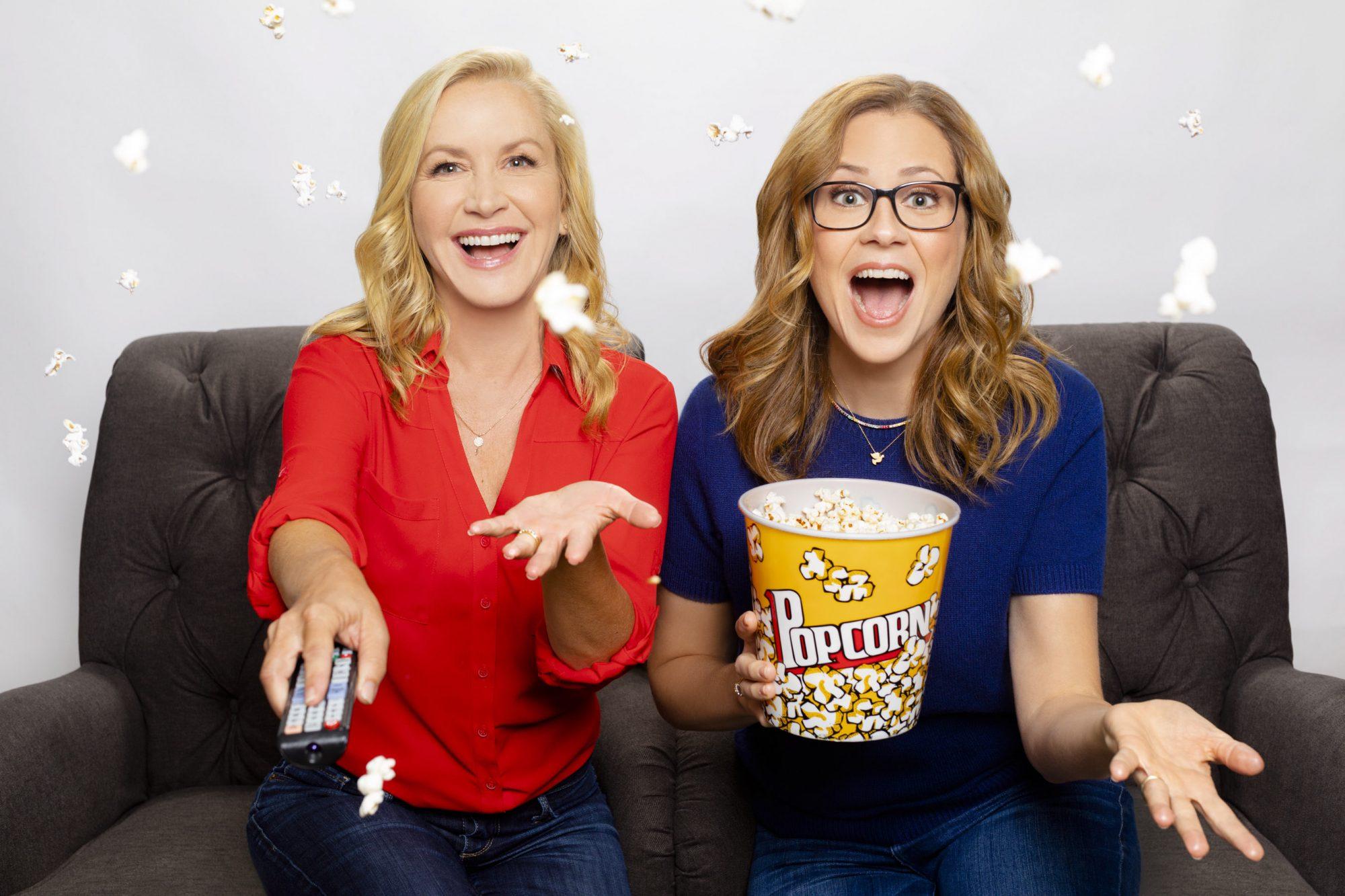 Office Ladies podcast Angela Kinsey and Jenna Fischer CR: Adam Hendershott