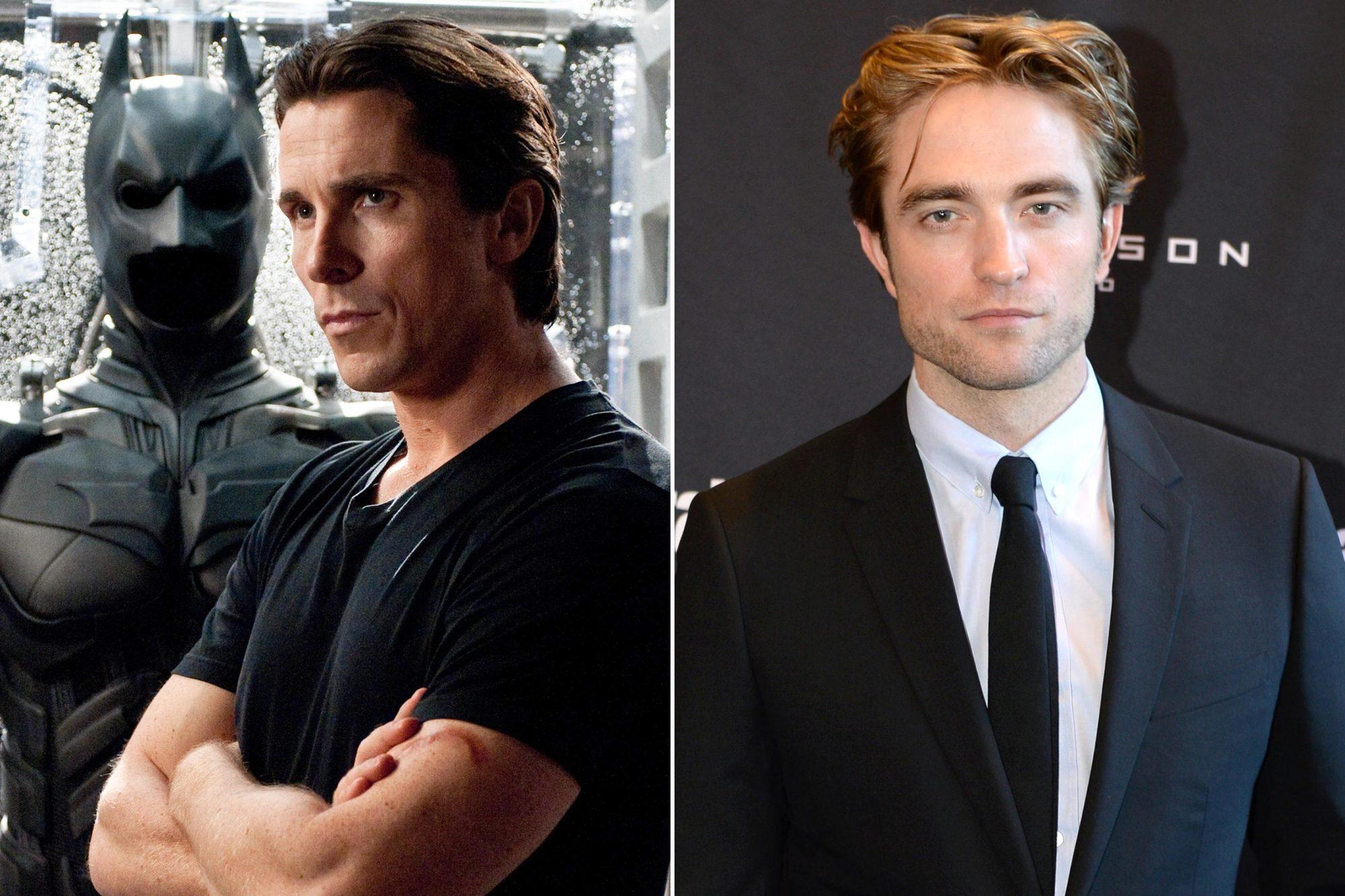 Christian Bale; Robert Pattinson