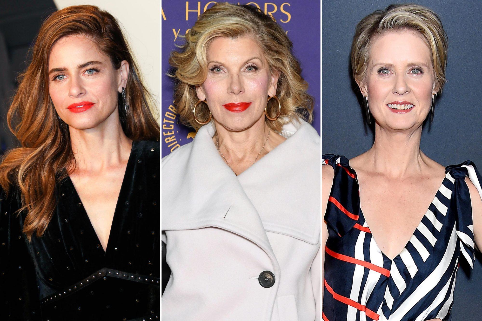 Amanda Peet; Christine Baranski; Cynthia Nixon