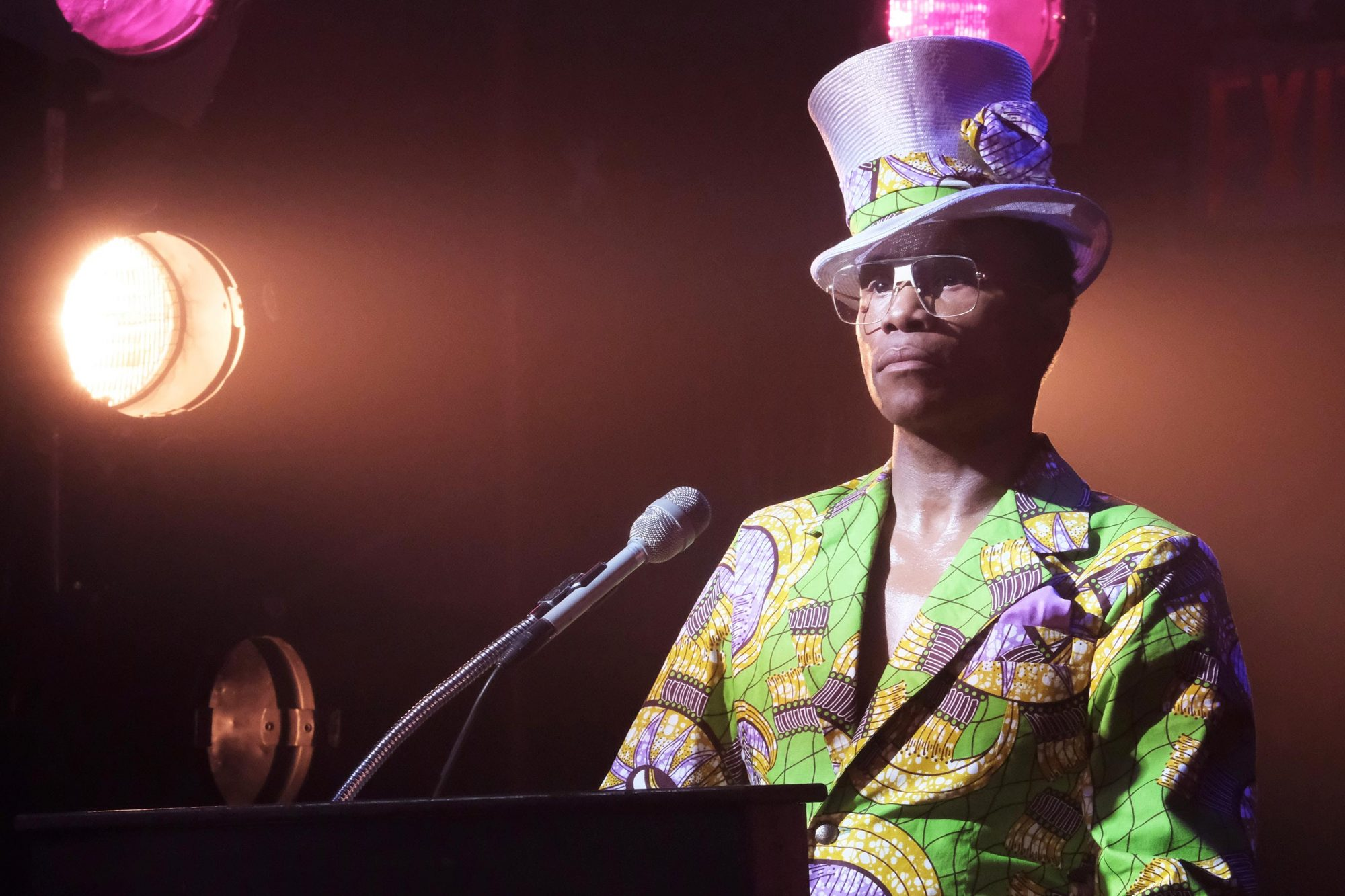 "POSE -- ""Mother of the Year"" -- Season 1, Episode 8 (Airs Sunday, July 22, 9:00 p.m. e/p) Pictured: Billy Porter as Pray Tell. CR: JoJo Whilden/FX"