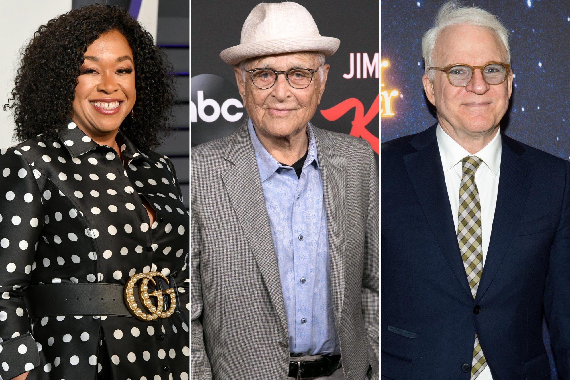 Shonda Rhimes; Norman Lear; Steve Martin