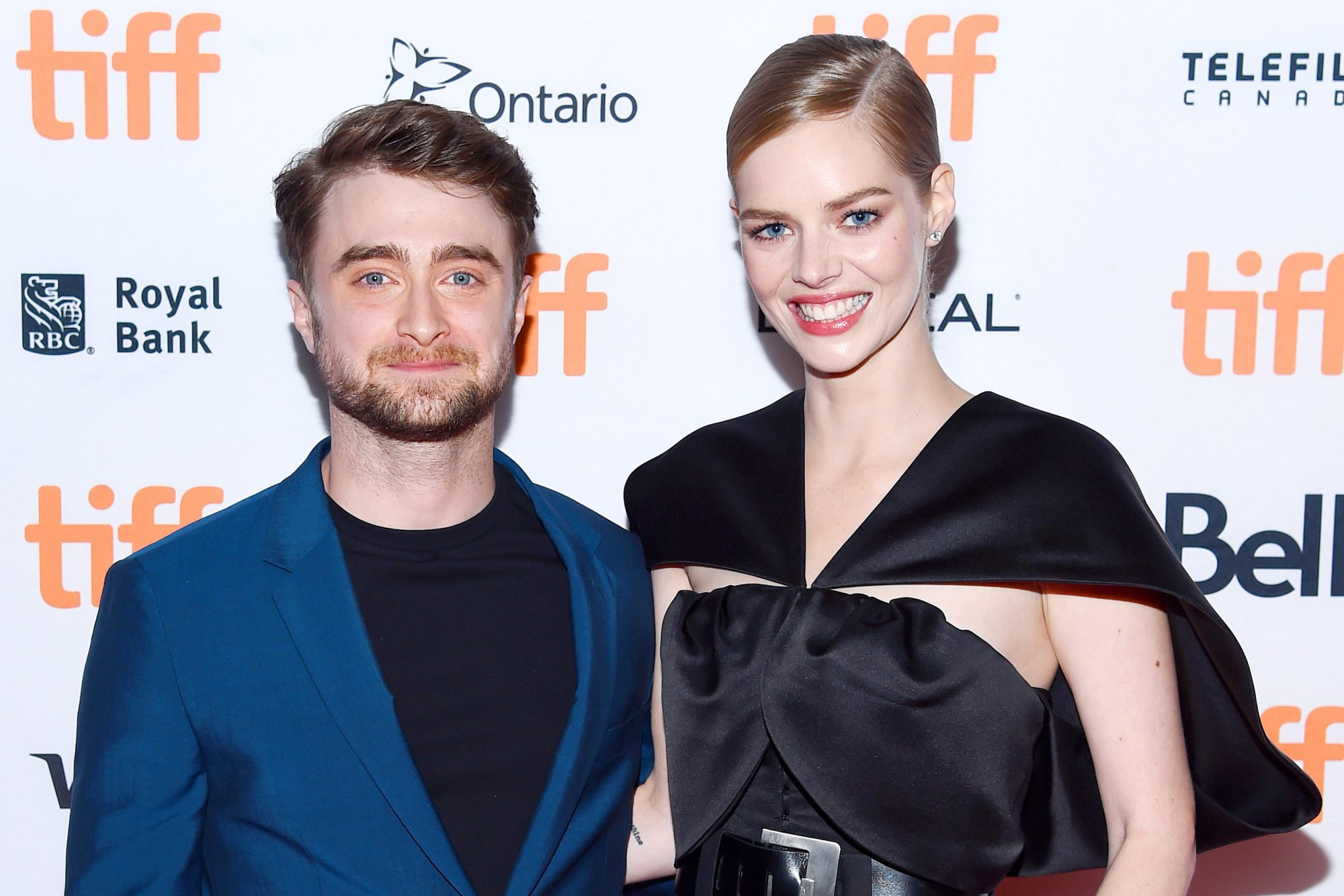 Samara Weaving and Daniel Radcliffe