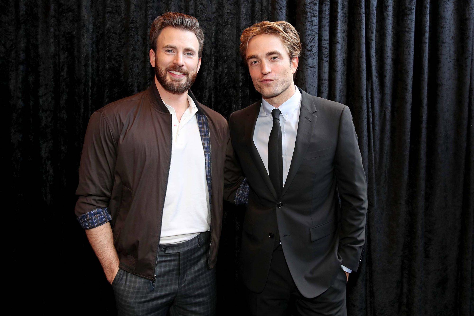 Chris Evans and Robert Pattinson