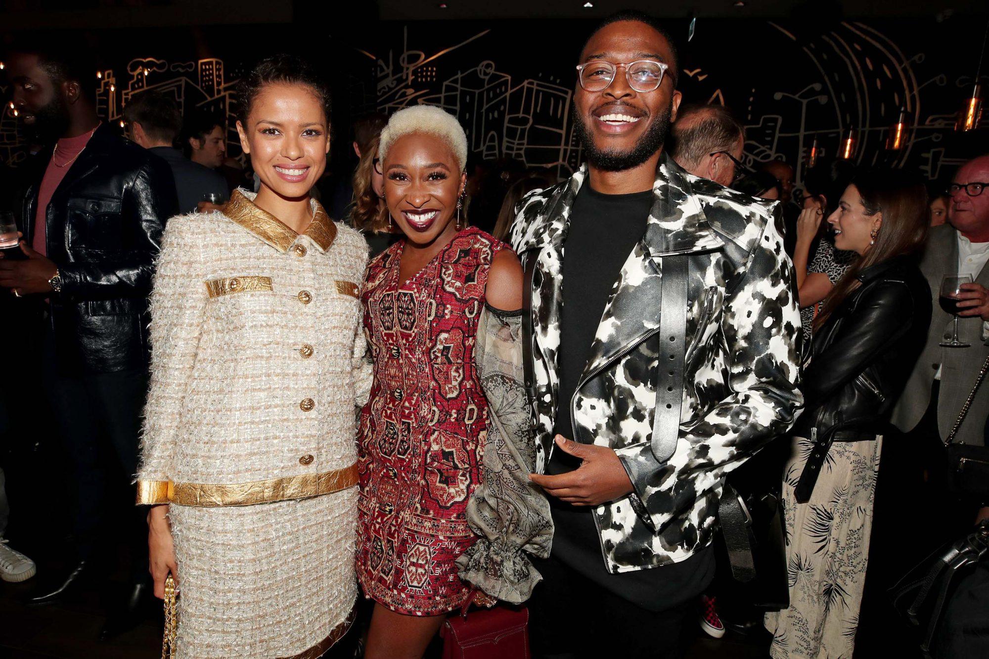 Gugu Mbatha-Raw, Cynthia Erivo and Zackary