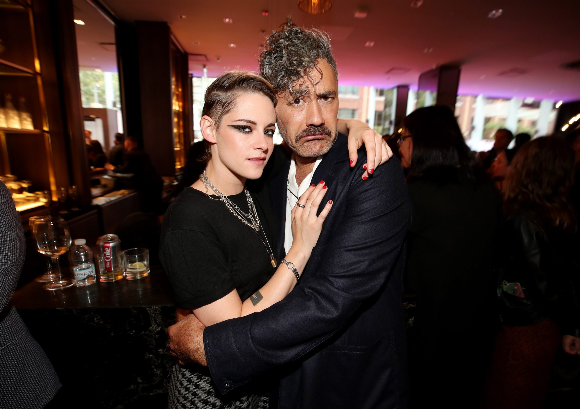 Kristen Stewart and Taika Waititi
